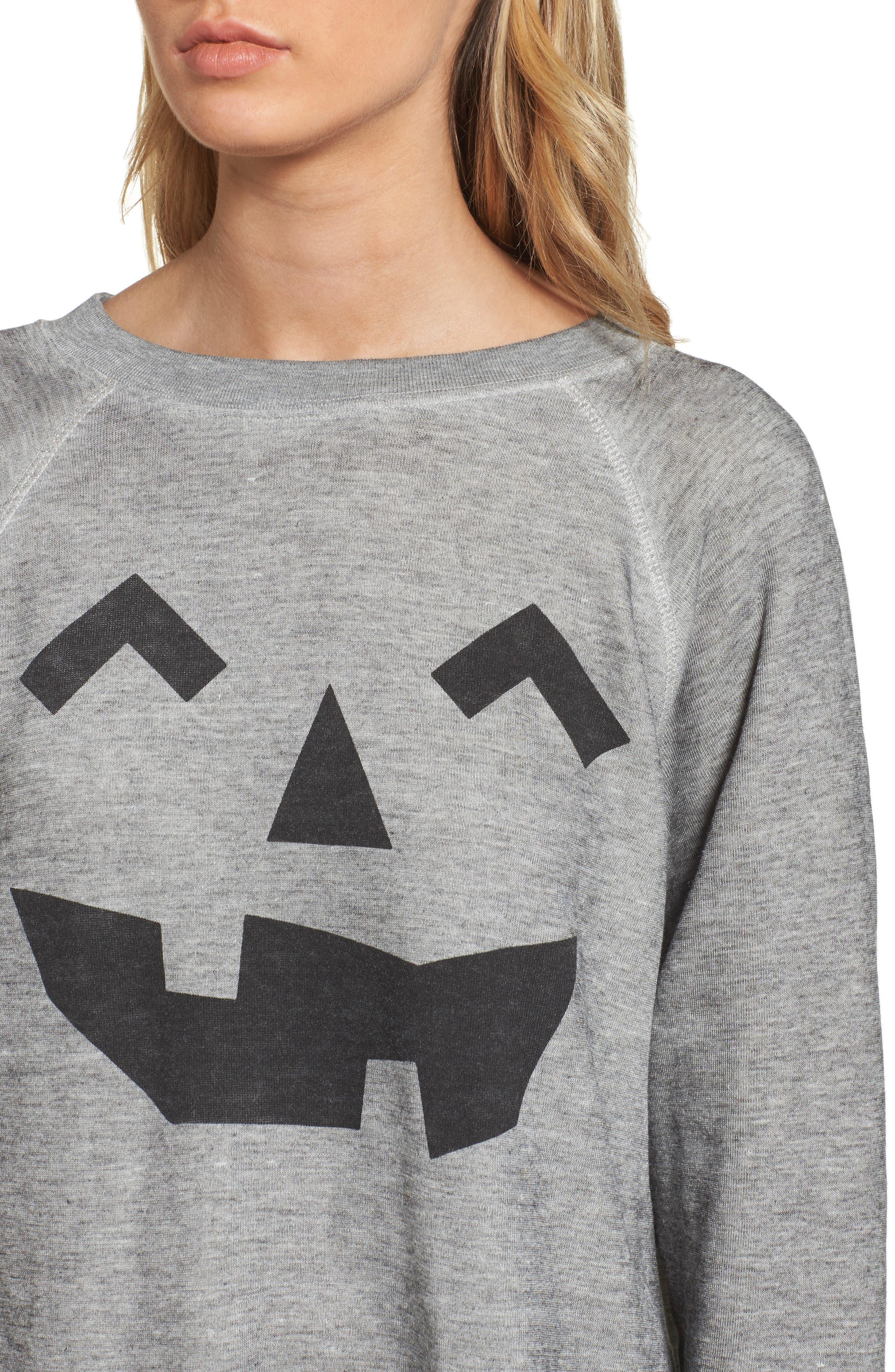 I'm a Pumpkin Sommers Sweatshirt,                             Alternate thumbnail 4, color,                             020