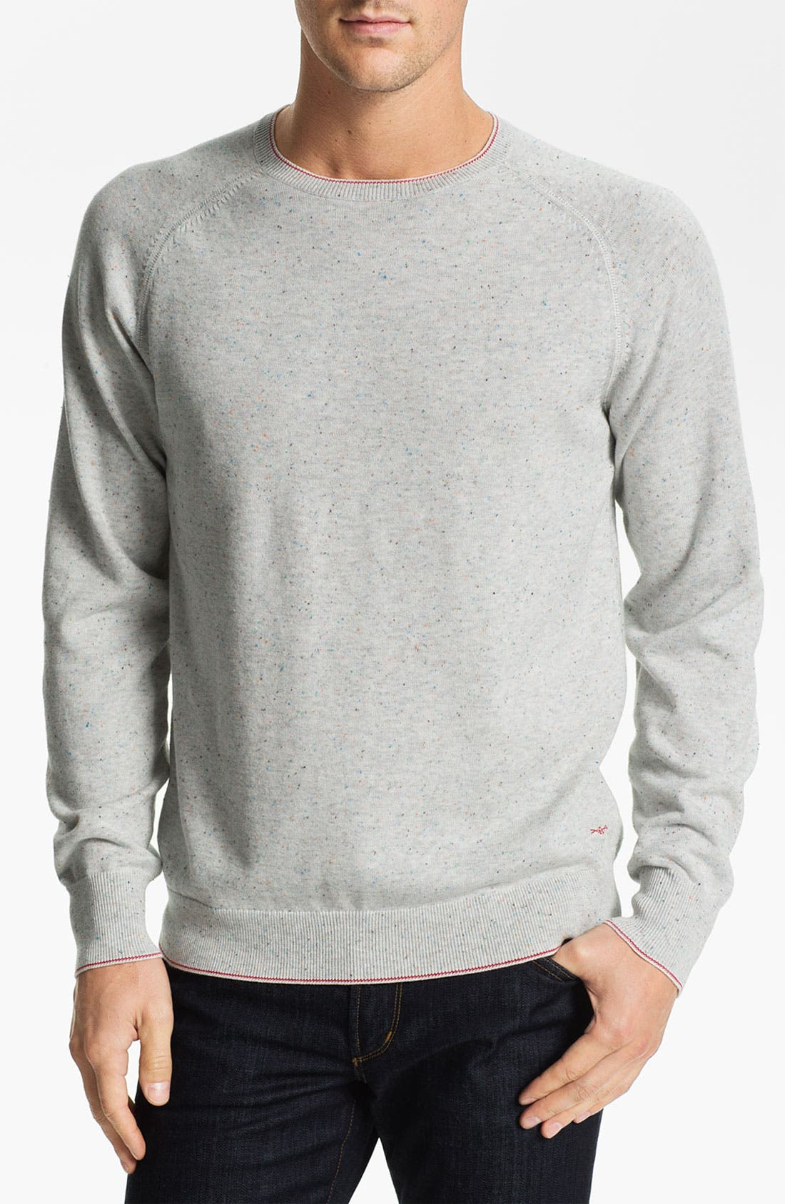 AGAVE,                             'Abeam' Crewneck Sweater,                             Main thumbnail 1, color,                             074