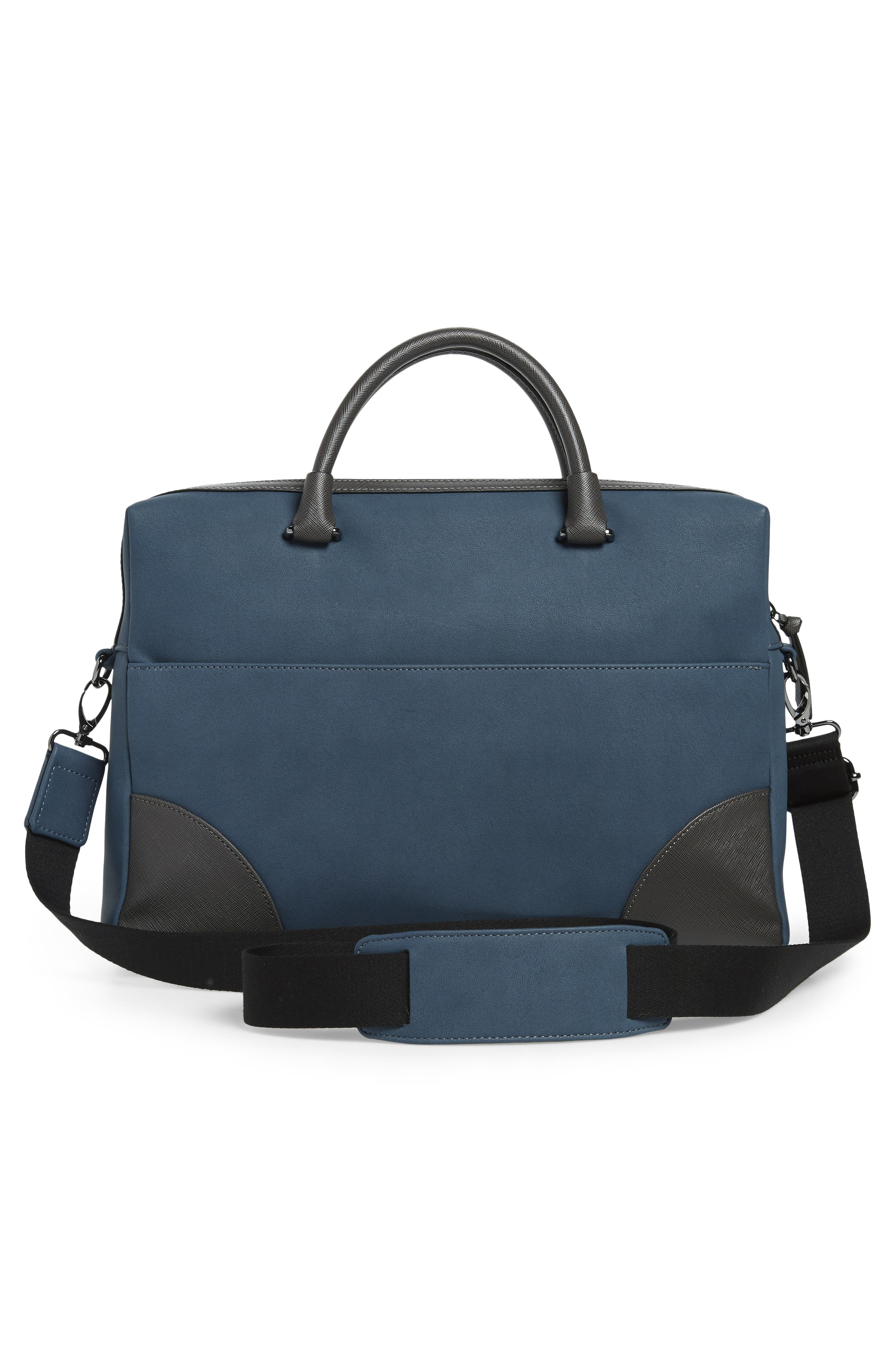 Dayof Briefcase,                             Alternate thumbnail 3, color,                             BLUE