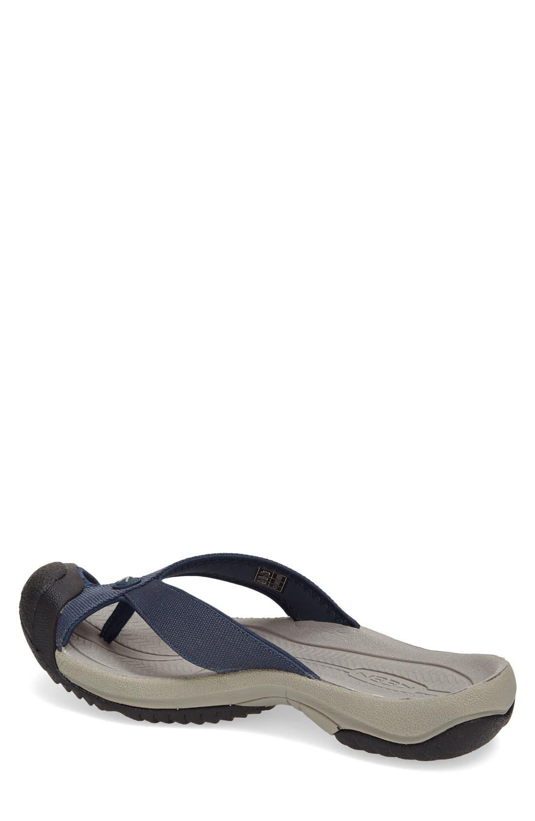 'Waimea H2' Water Thong Sandal,                             Alternate thumbnail 3, color,                             MIDNIGHT NAVY/ NEUTRAL