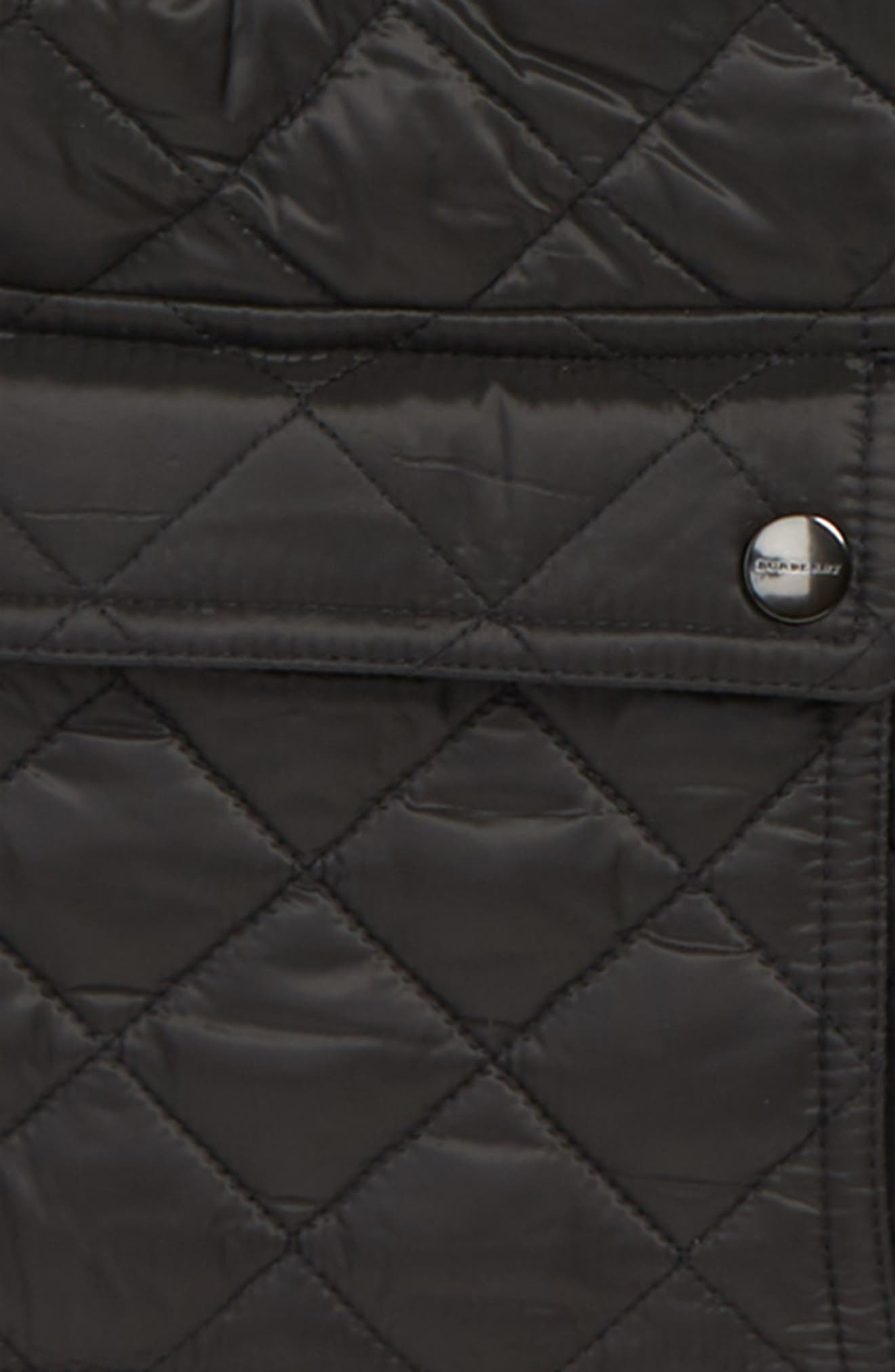 Charlie Vintage Quilted Jacket,                             Alternate thumbnail 2, color,                             BLACK
