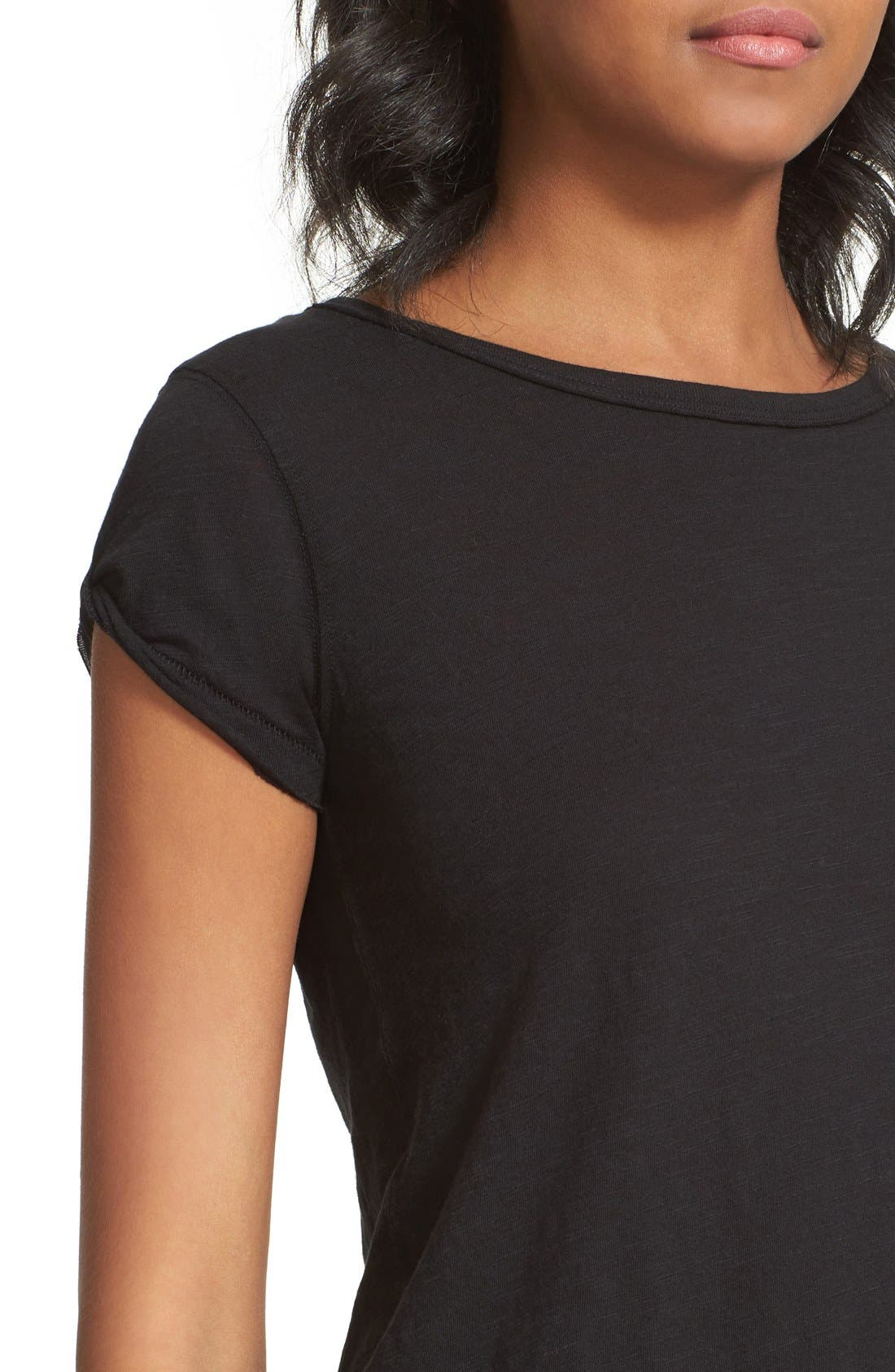 We the Free by Free People Tee,                             Alternate thumbnail 3, color,                             BLACK