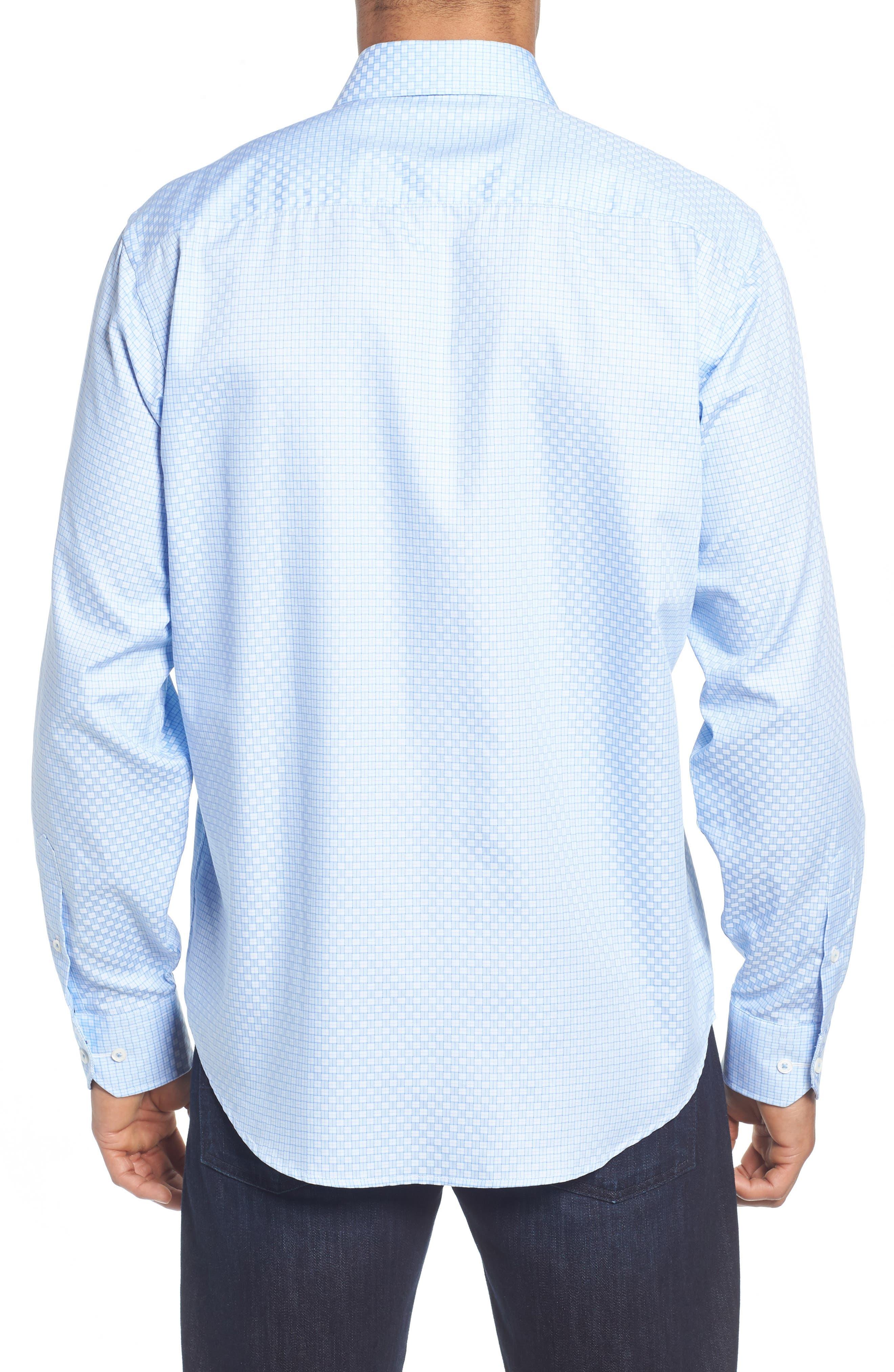 Classic Fit Print Sport Shirt,                             Alternate thumbnail 2, color,                             422