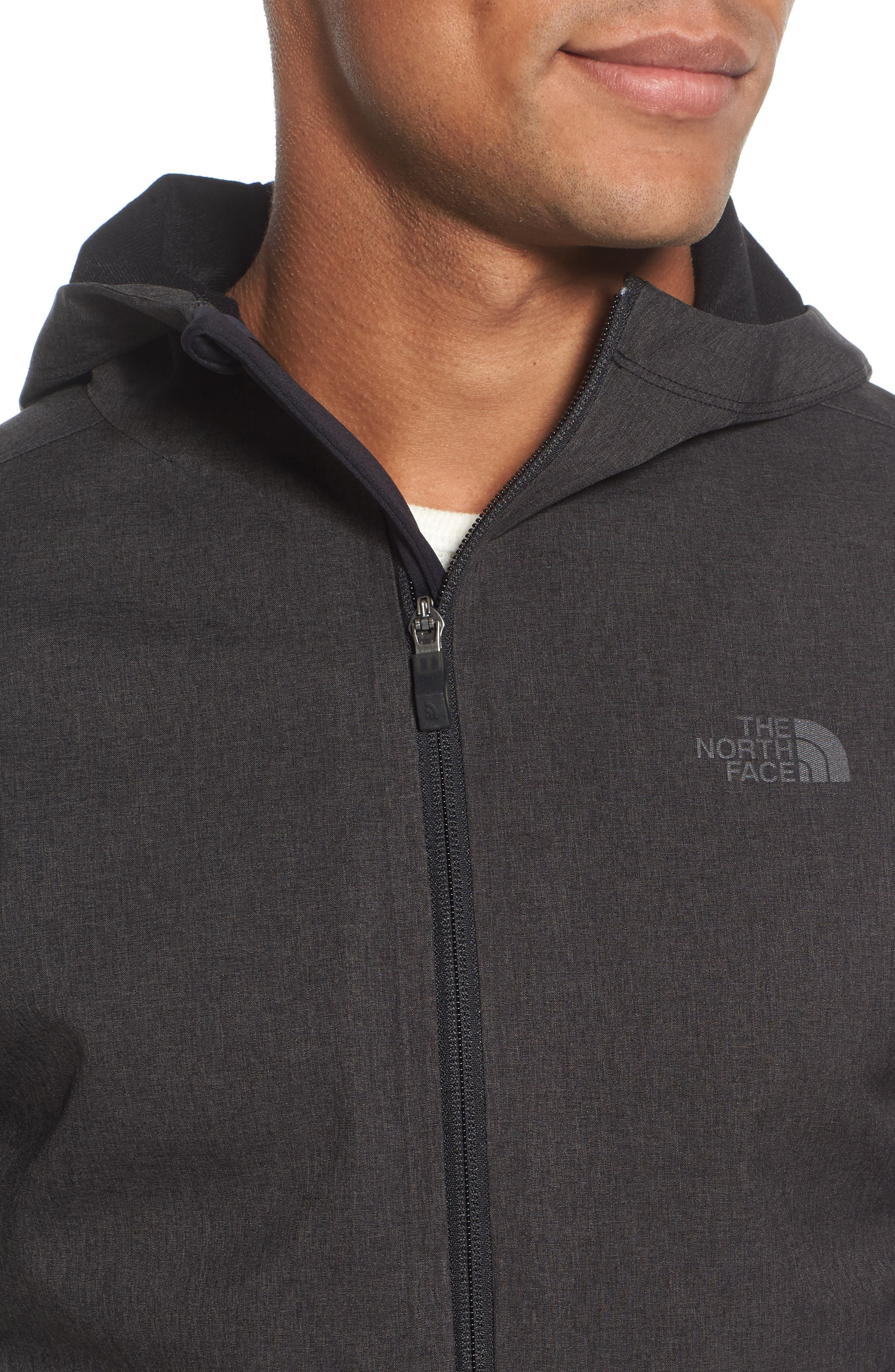 'Kilowatt' Hooded Jacket,                             Alternate thumbnail 4, color,                             001