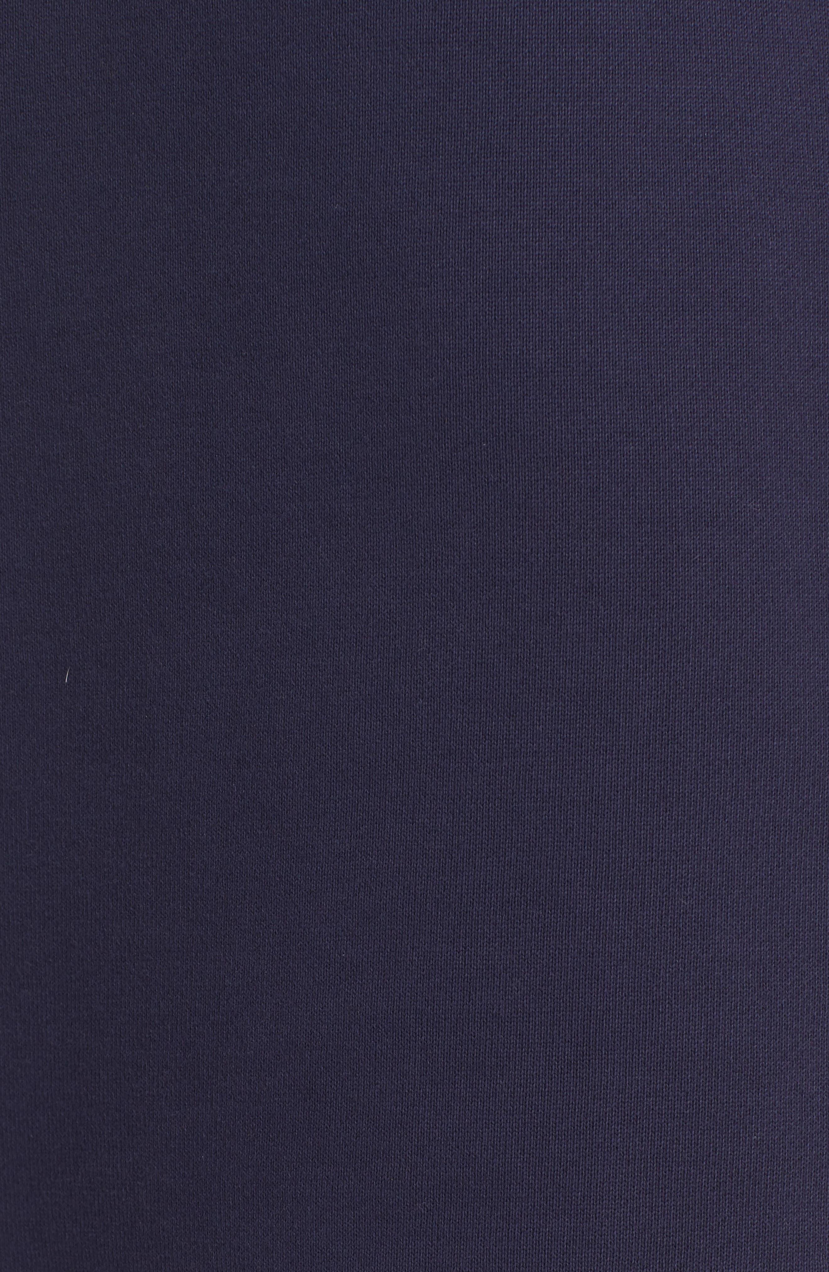 Abito Ruffle Sweatshirt Dress,                             Alternate thumbnail 6, color,                             420