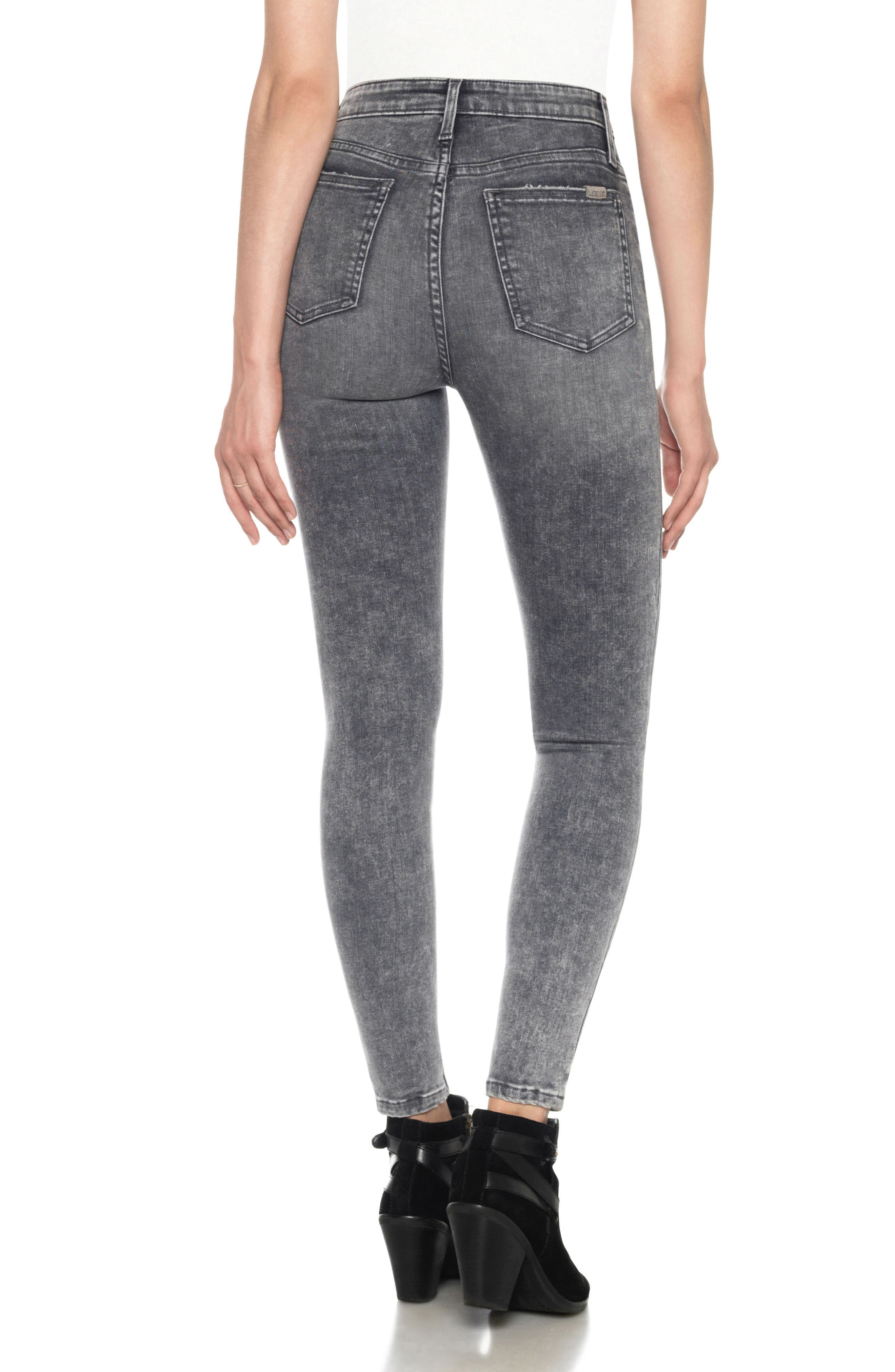 Flawless - Charlie High Waist Ankle Skinny Jeans,                             Alternate thumbnail 2, color,                             052