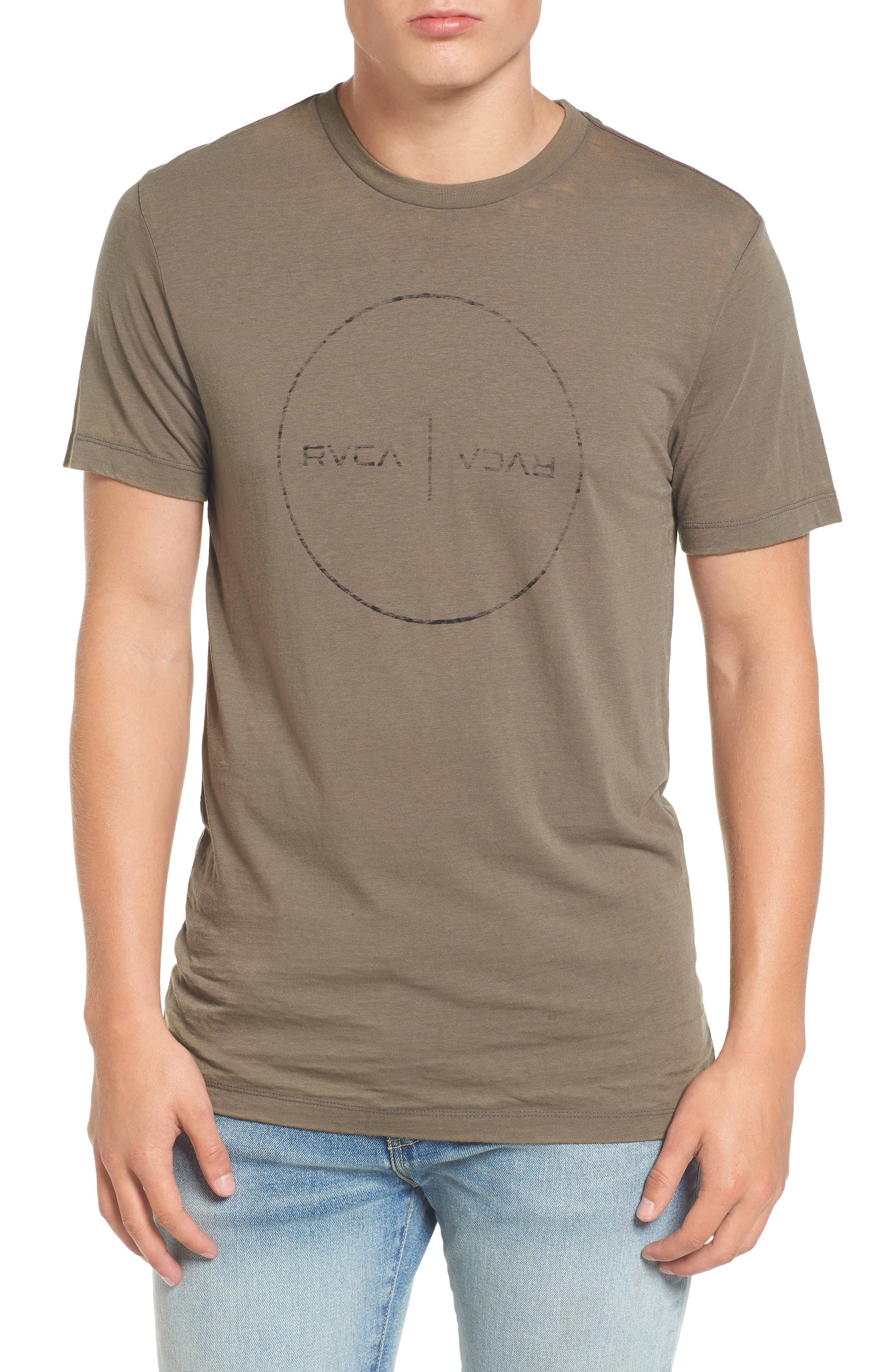 Flipped Perimeter Burnout T-Shirt,                             Main thumbnail 2, color,