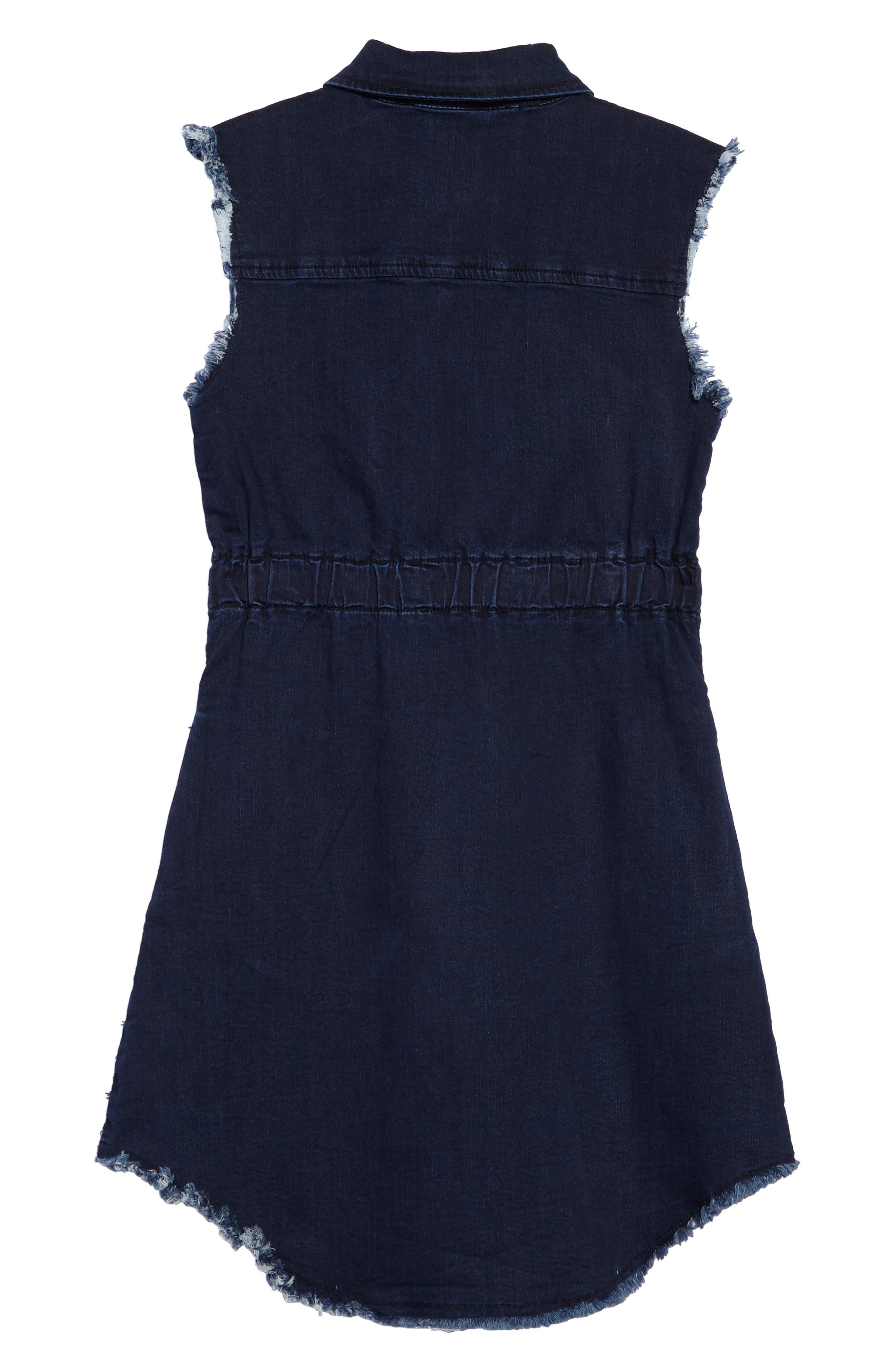Rosanna Chambray Dress,                             Alternate thumbnail 2, color,                             490