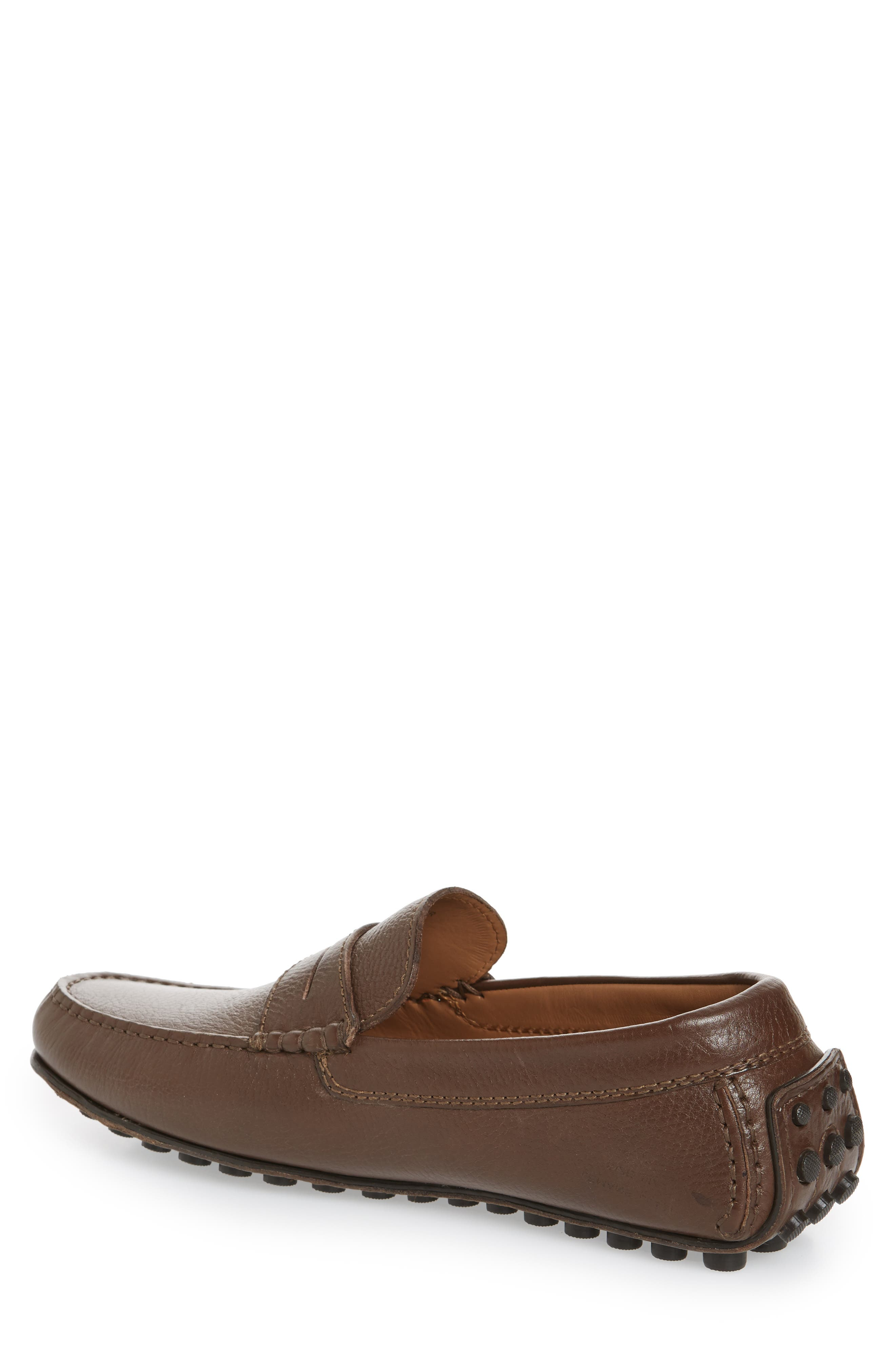 Le Mans Penny Driving Moccasin,                             Alternate thumbnail 2, color,                             BROWN