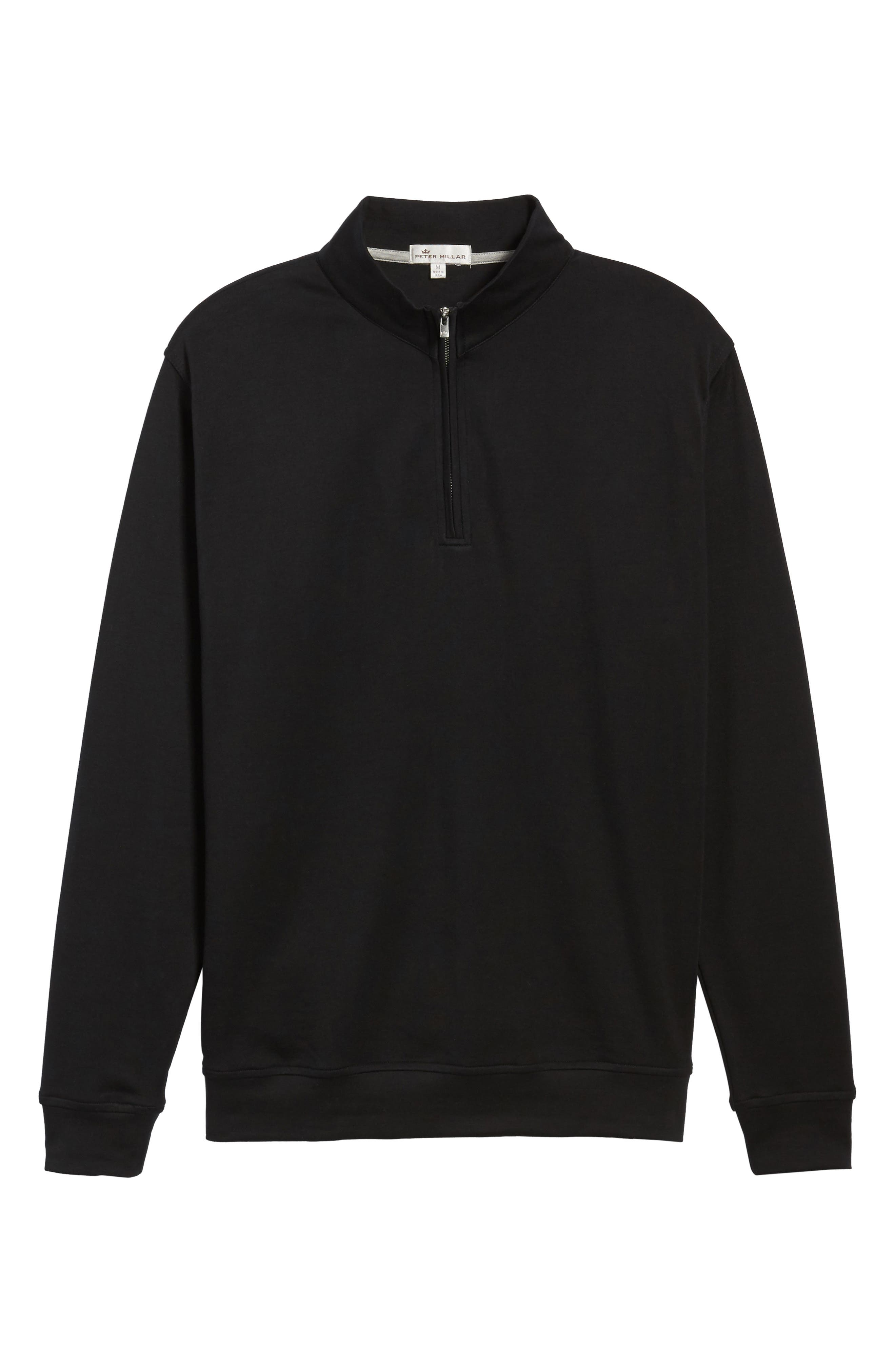 Quarter Zip Pullover,                             Alternate thumbnail 6, color,                             001