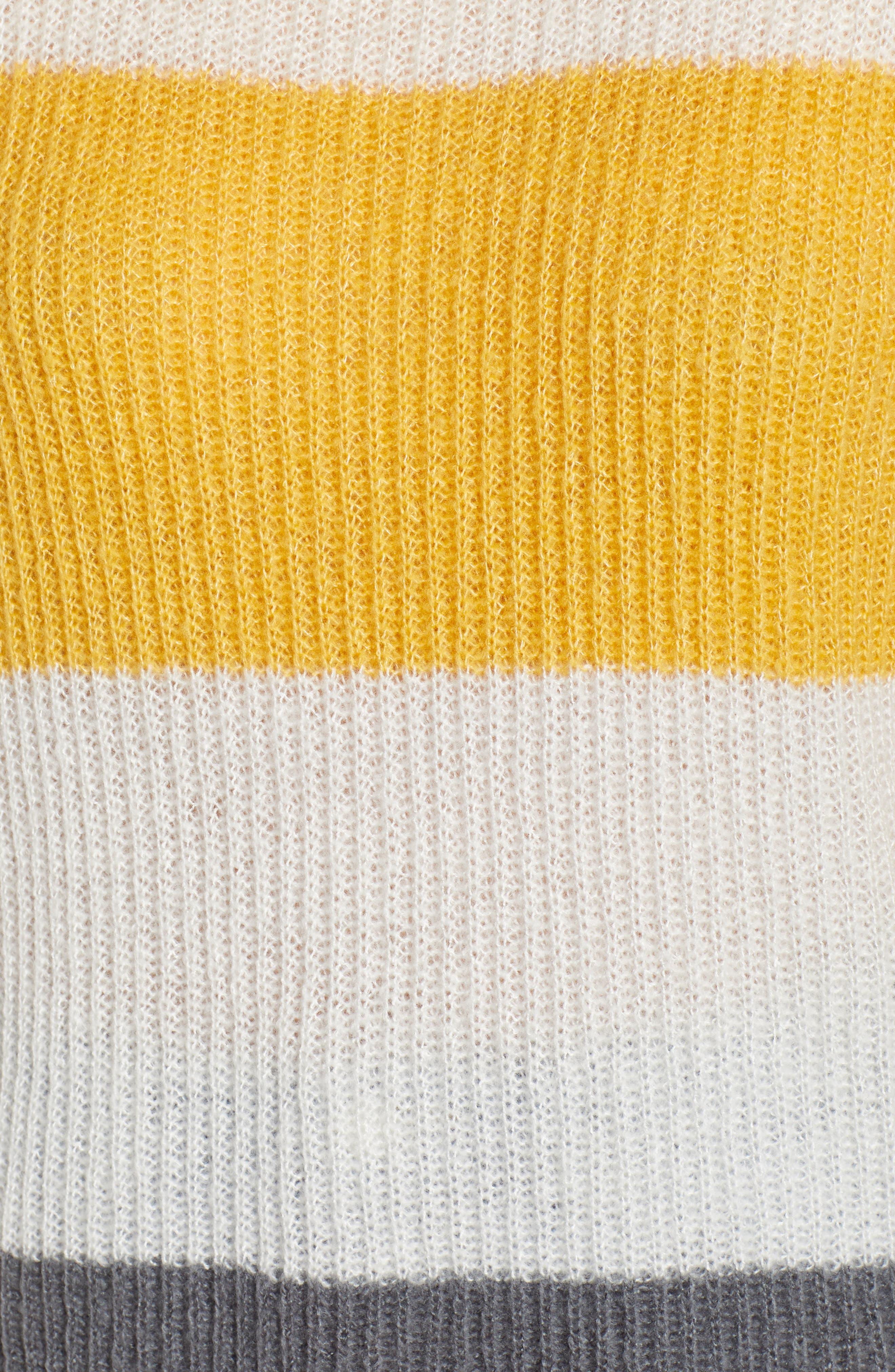 Stripe Pullover,                             Alternate thumbnail 5, color,                             900