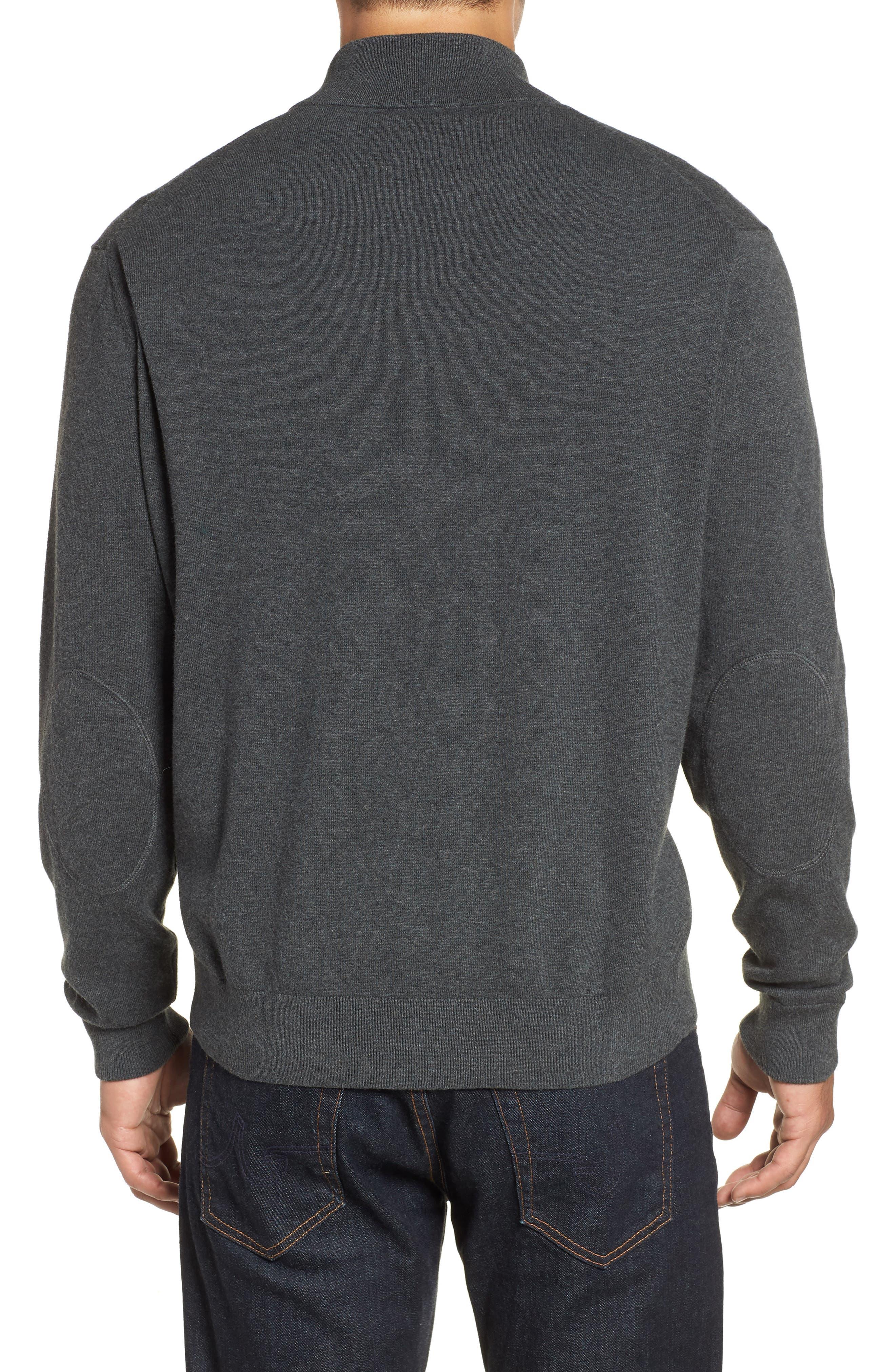 Denver Broncos - Lakemont Regular Fit Quarter Zip Sweater,                             Alternate thumbnail 2, color,                             018
