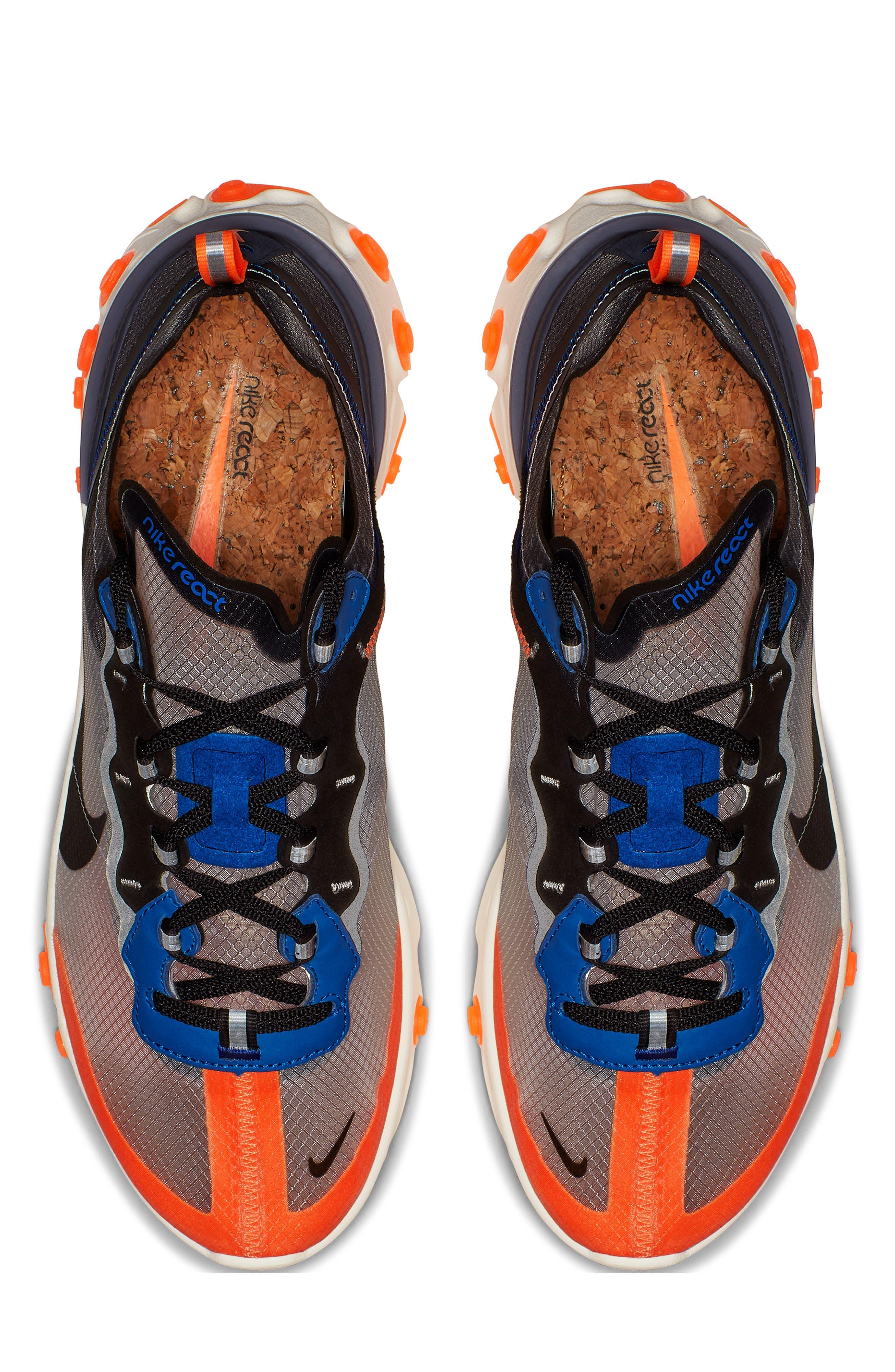 React Element 87 Sneaker,                             Alternate thumbnail 4, color,                             021