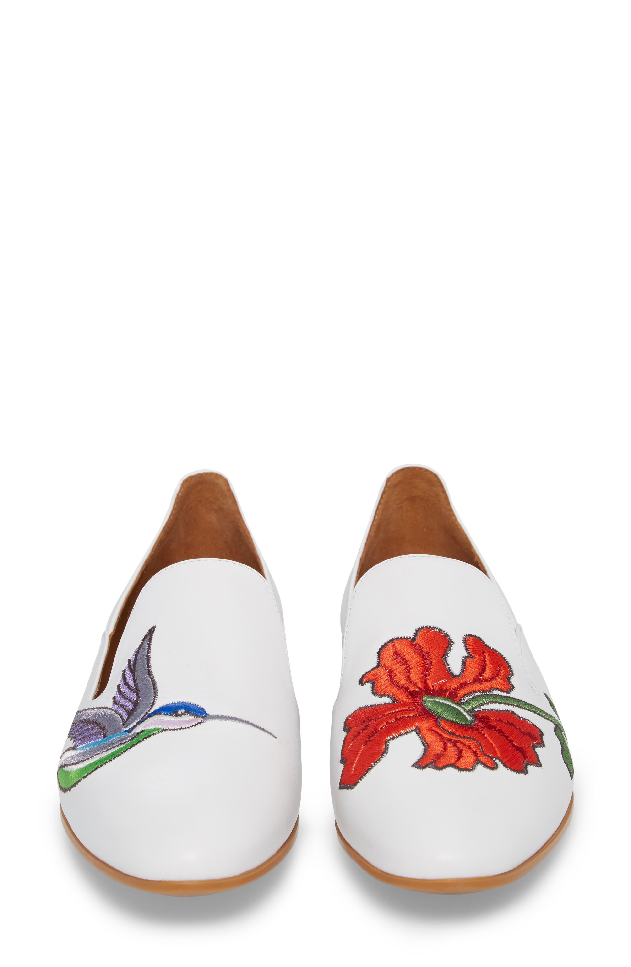 Emmaline Embroidered Loafer,                             Alternate thumbnail 13, color,