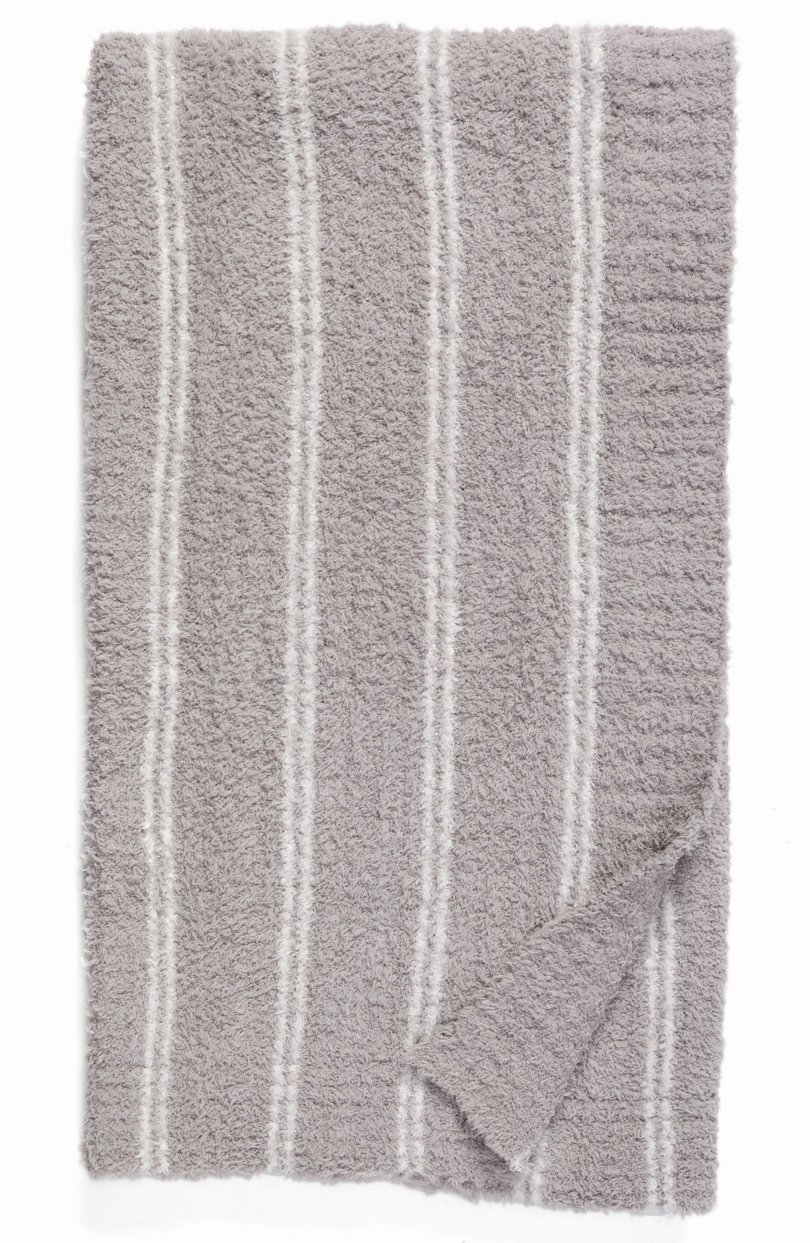 Cozychic<sup>®</sup> Vertical Stripe Throw Blanket,                             Main thumbnail 1, color,                             020