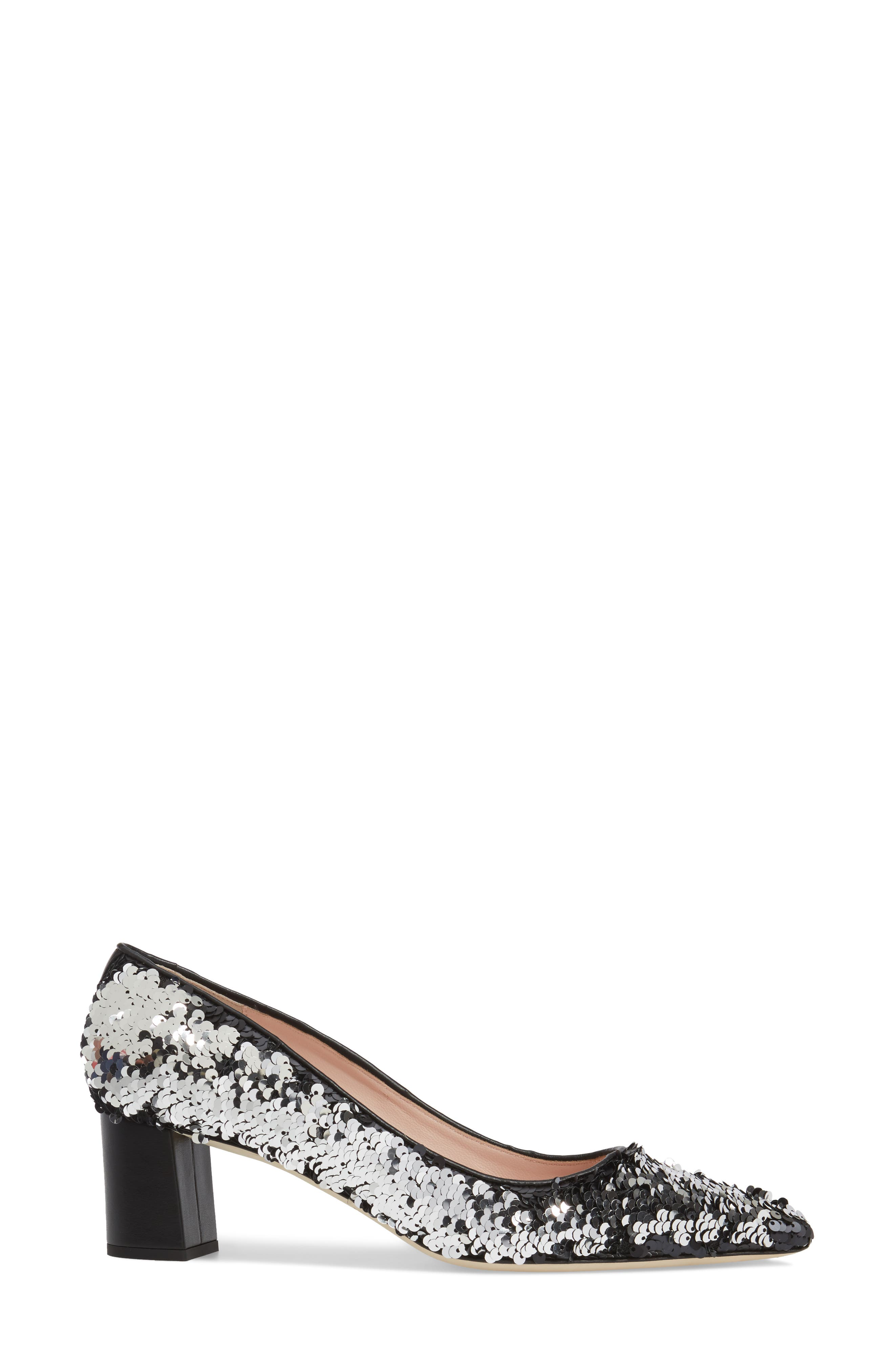 mauna sequin pump,                             Alternate thumbnail 3, color,