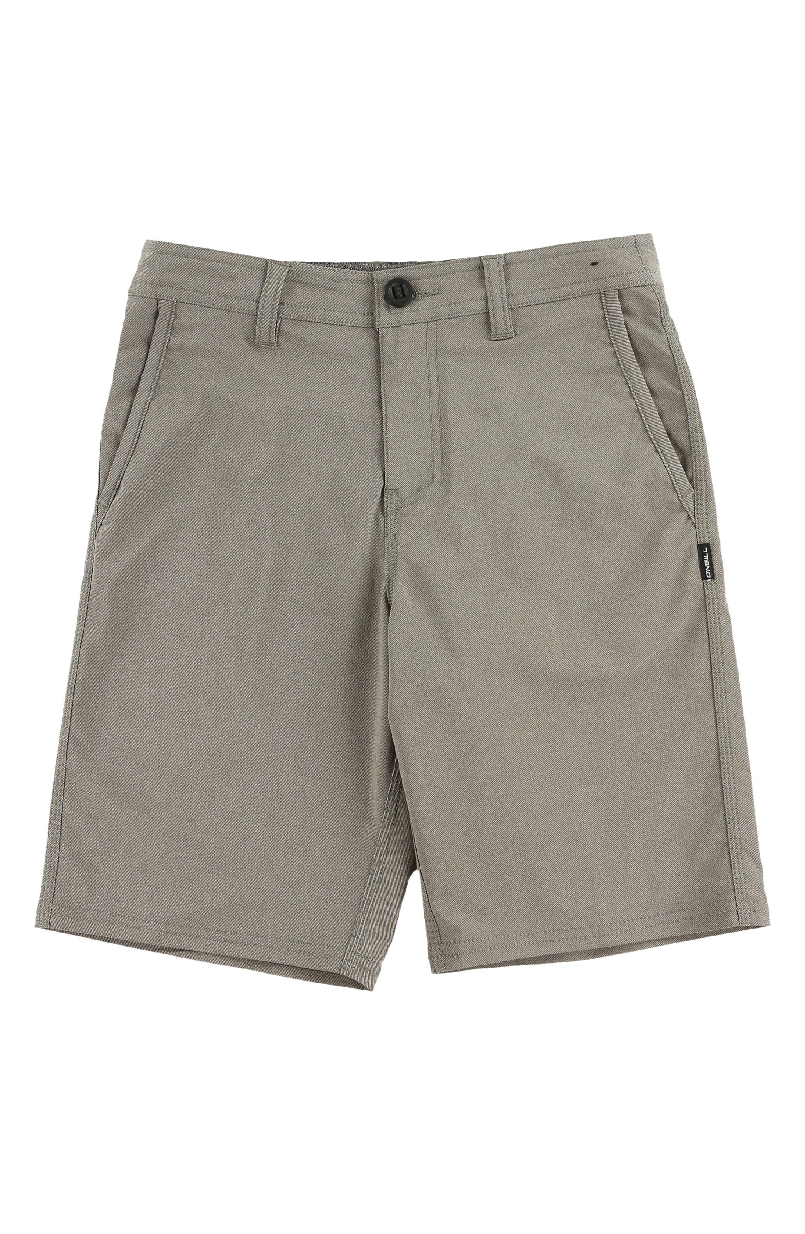 Stockton Hybrid Shorts,                             Main thumbnail 1, color,                             COFFEE