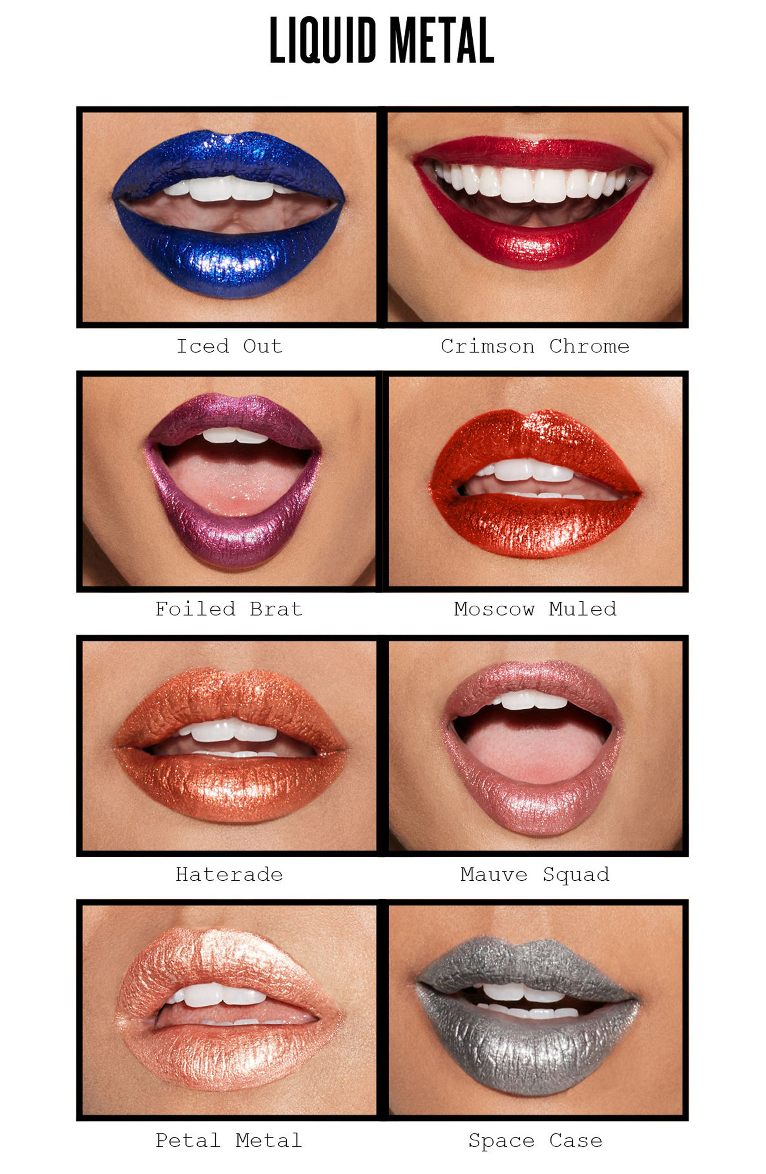 Be Legendary Liquid Pigment Liquid Lip,                             Alternate thumbnail 4, color,                             GIRL, PLEASE