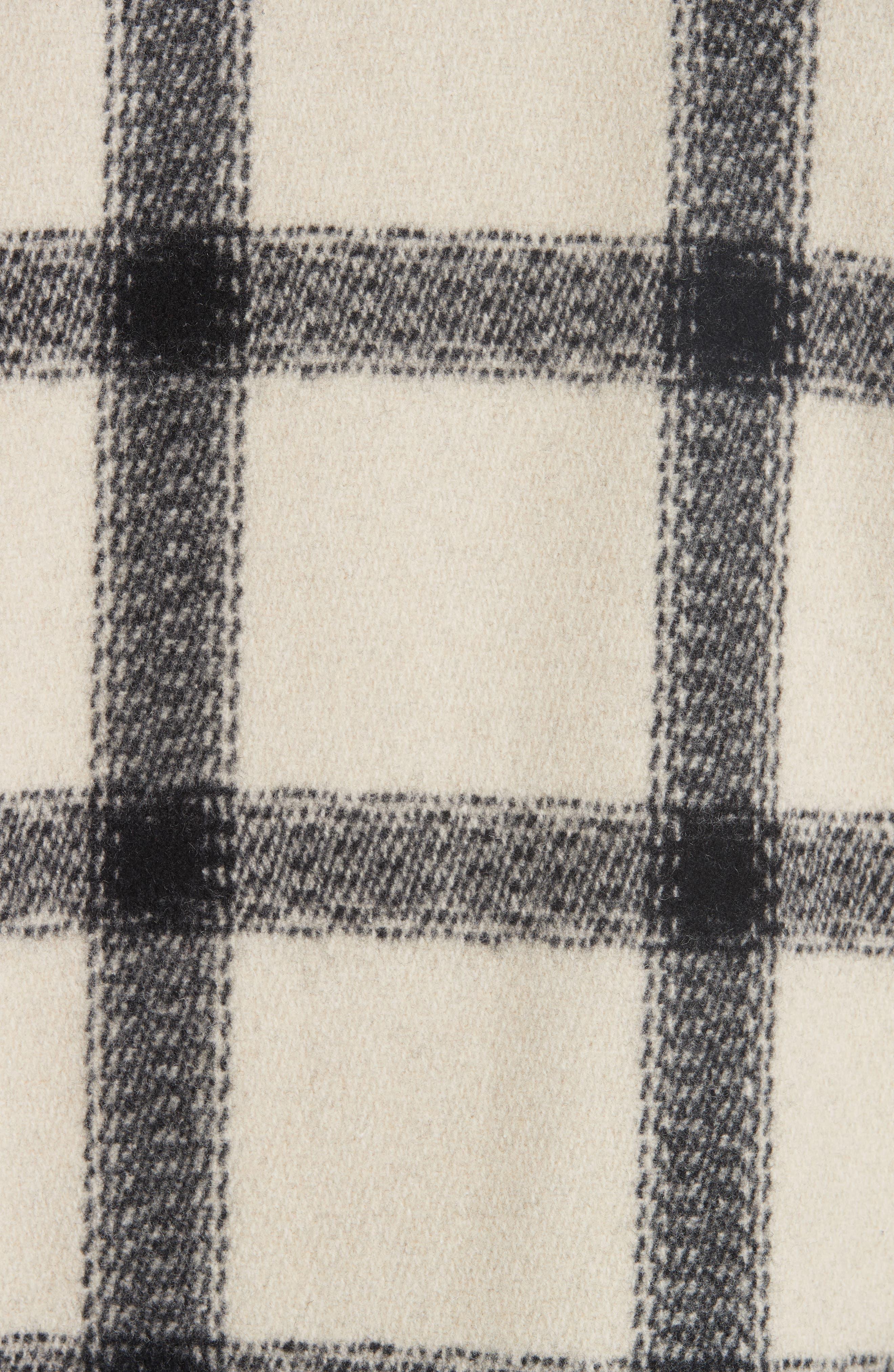 A.P.C.,                             Veste Vancouver Wool Flannel Jacket,                             Alternate thumbnail 6, color,                             ECRU AAD