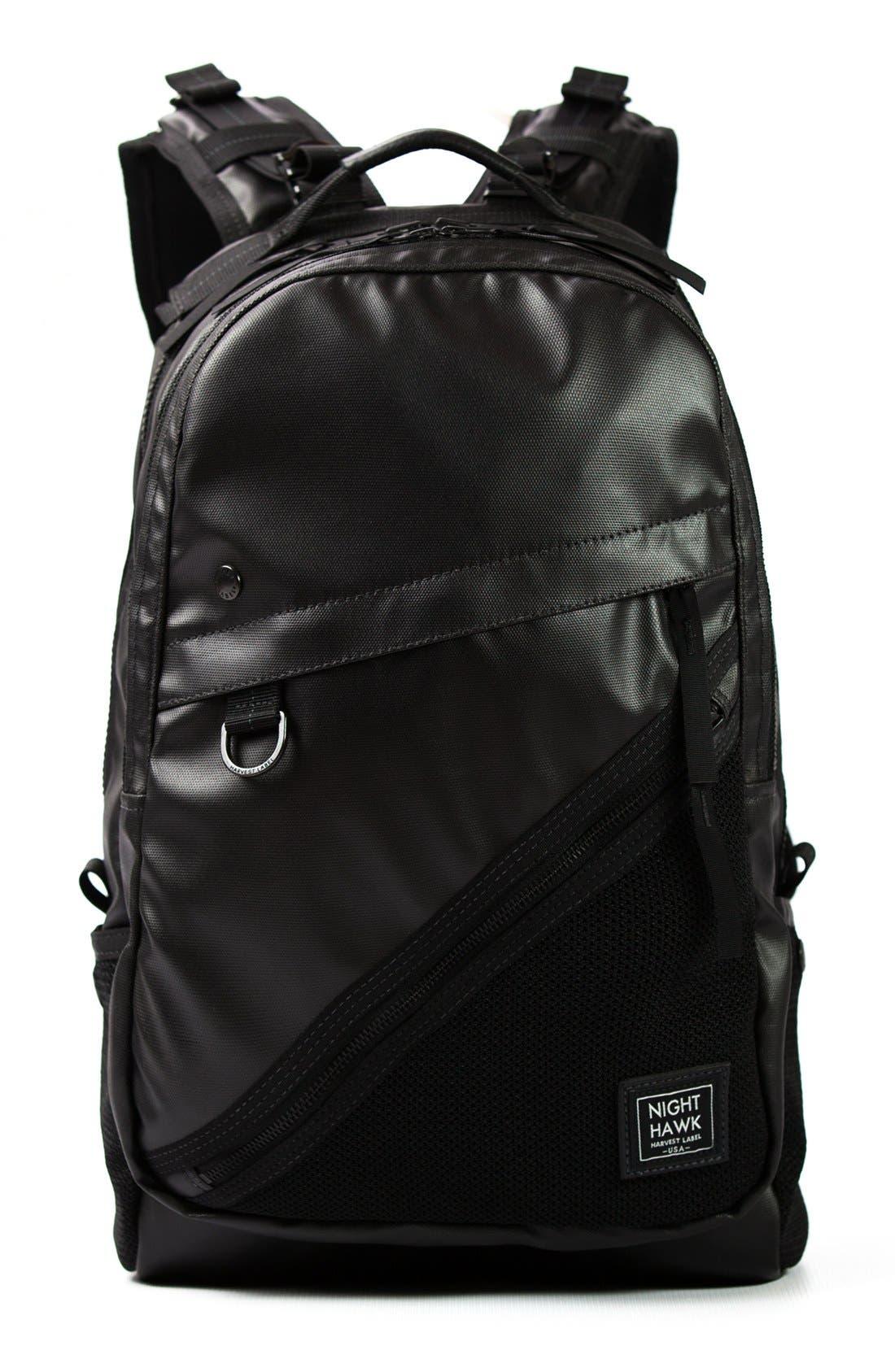 'NightHawk' Backpack,                             Main thumbnail 1, color,                             BLACK
