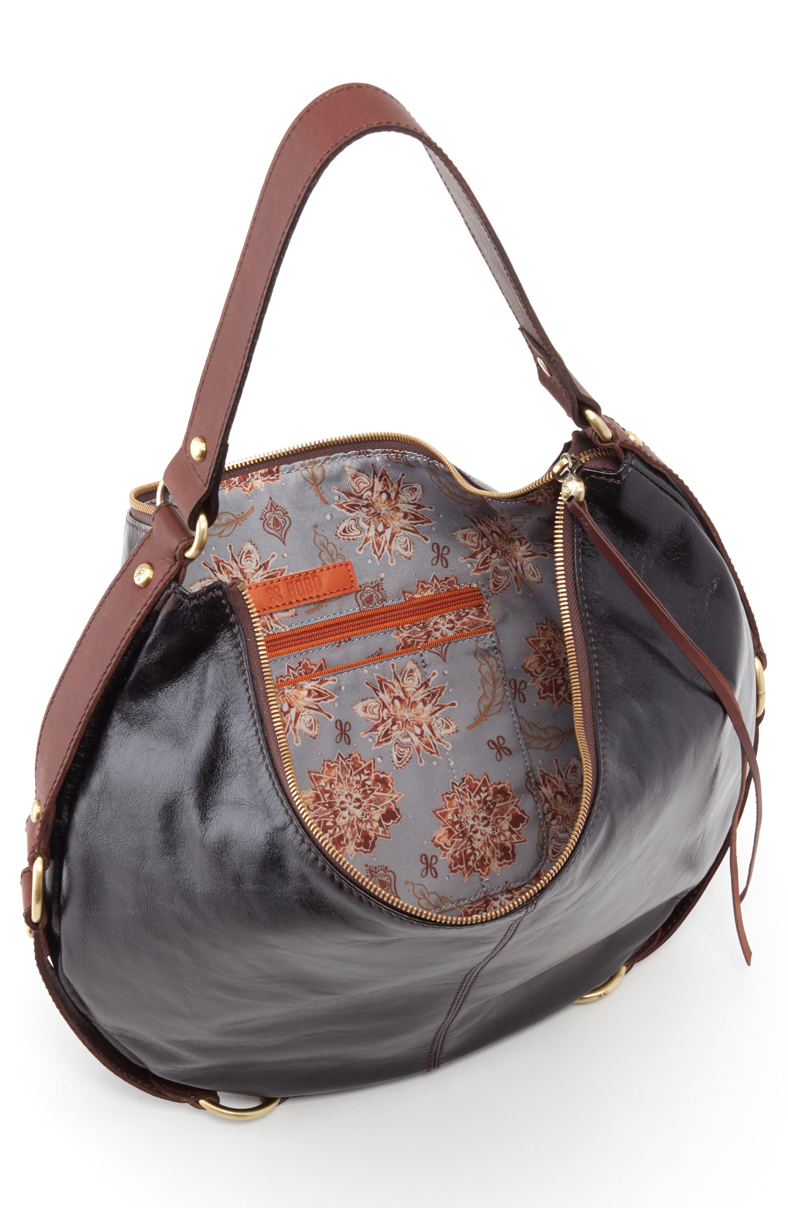 HOBO,                             Rogue Shoulder Bag,                             Alternate thumbnail 3, color,                             001