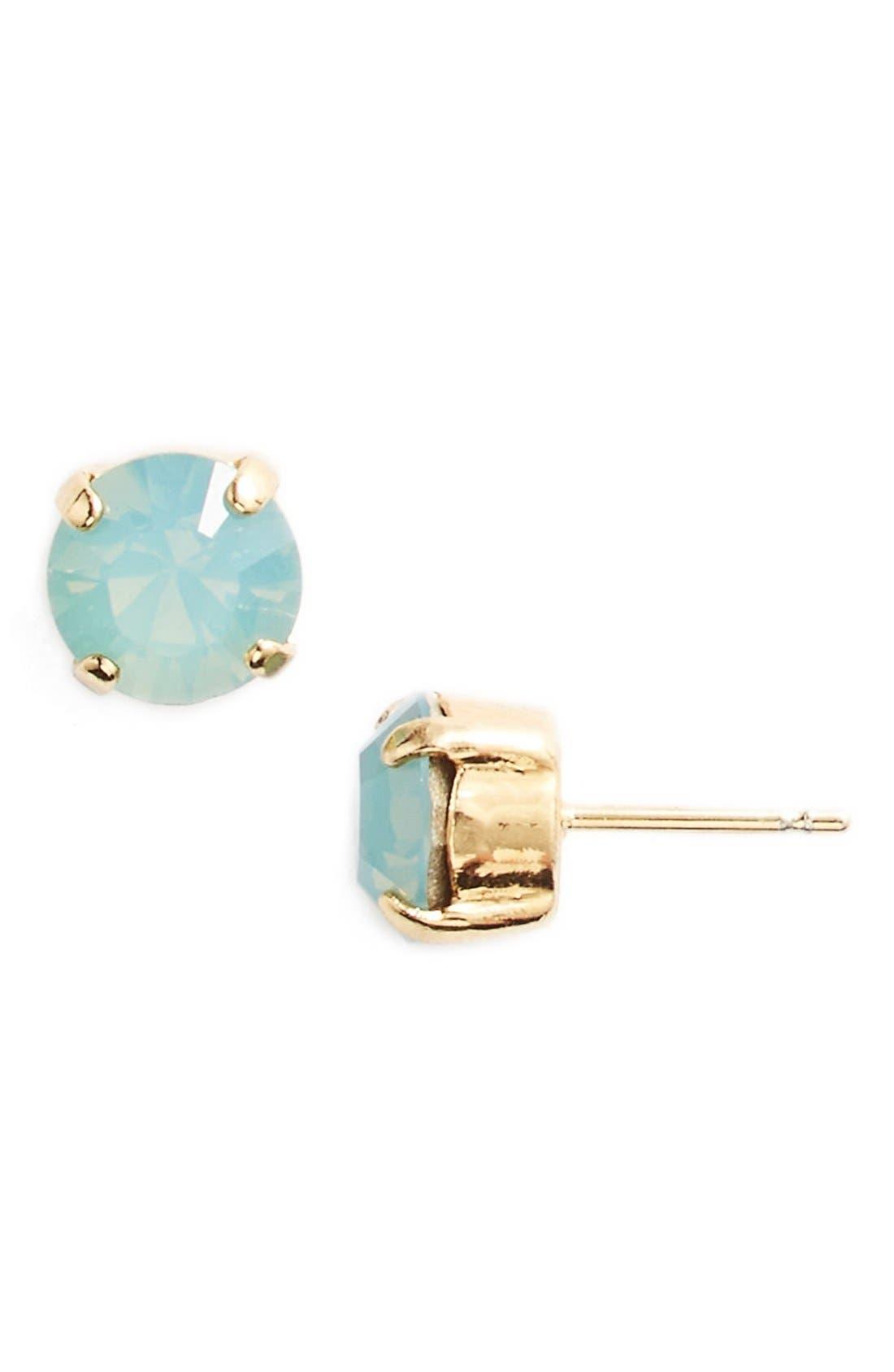 'Grace' Crystal Stud Earrings,                             Main thumbnail 16, color,