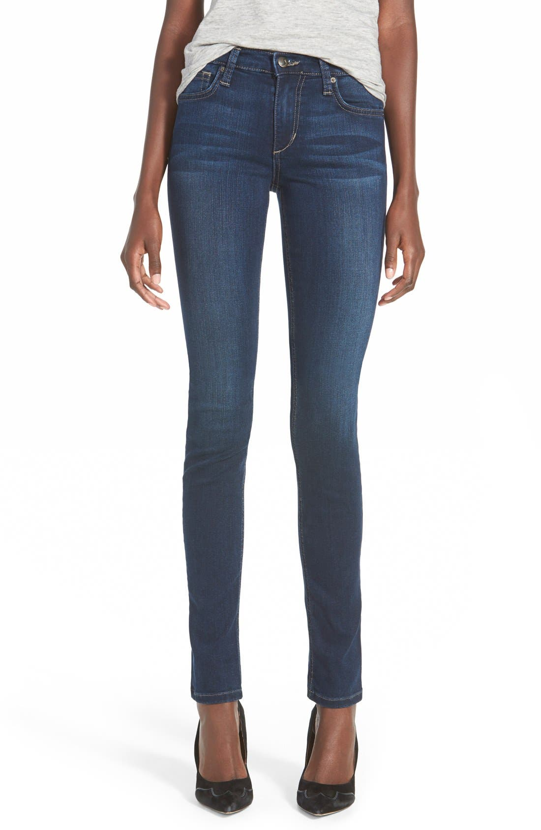 Icon Skinny Jeans,                             Alternate thumbnail 6, color,                             410