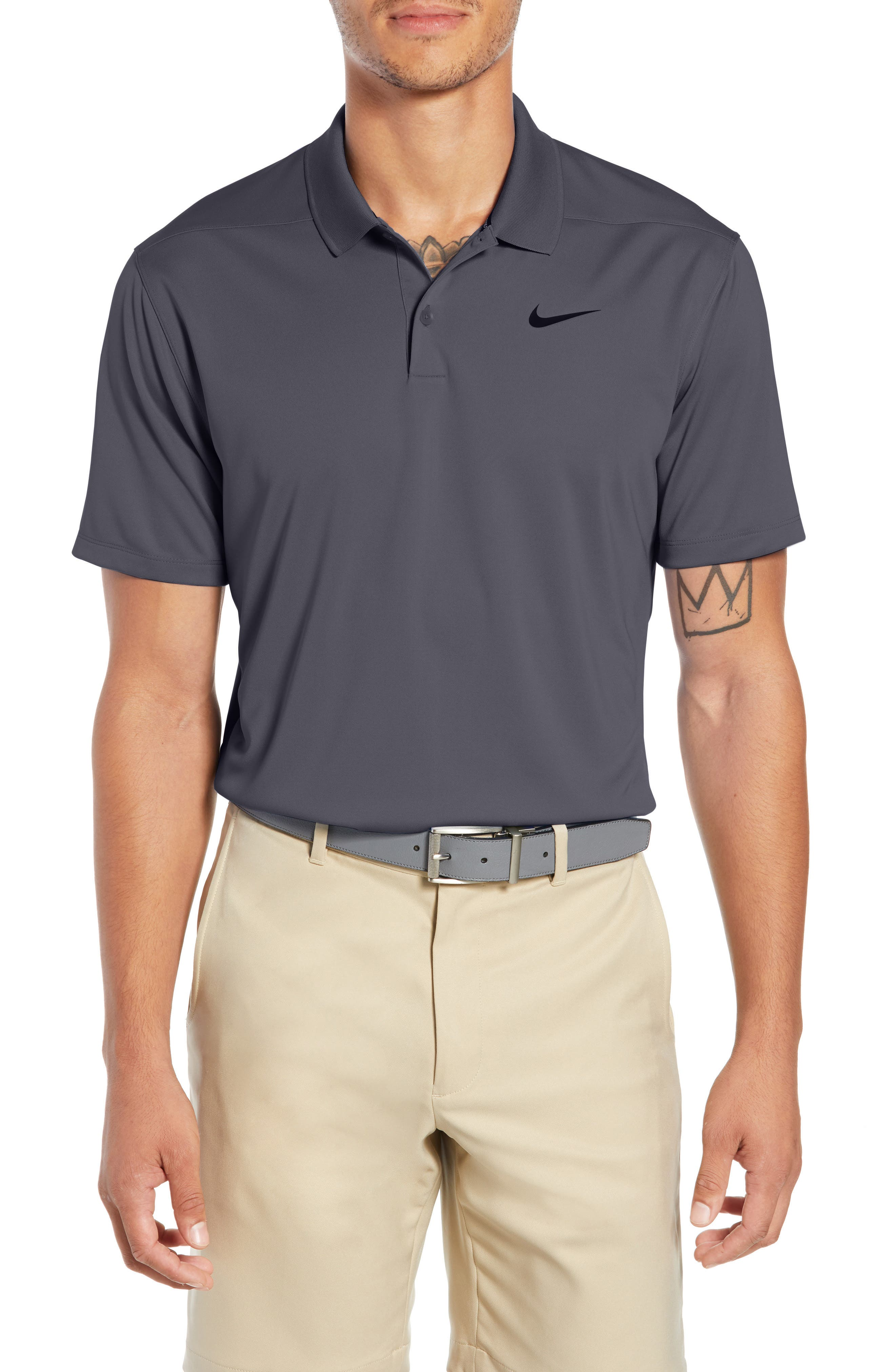 NIKE Dry Victory Golf Polo, Main, color, 021