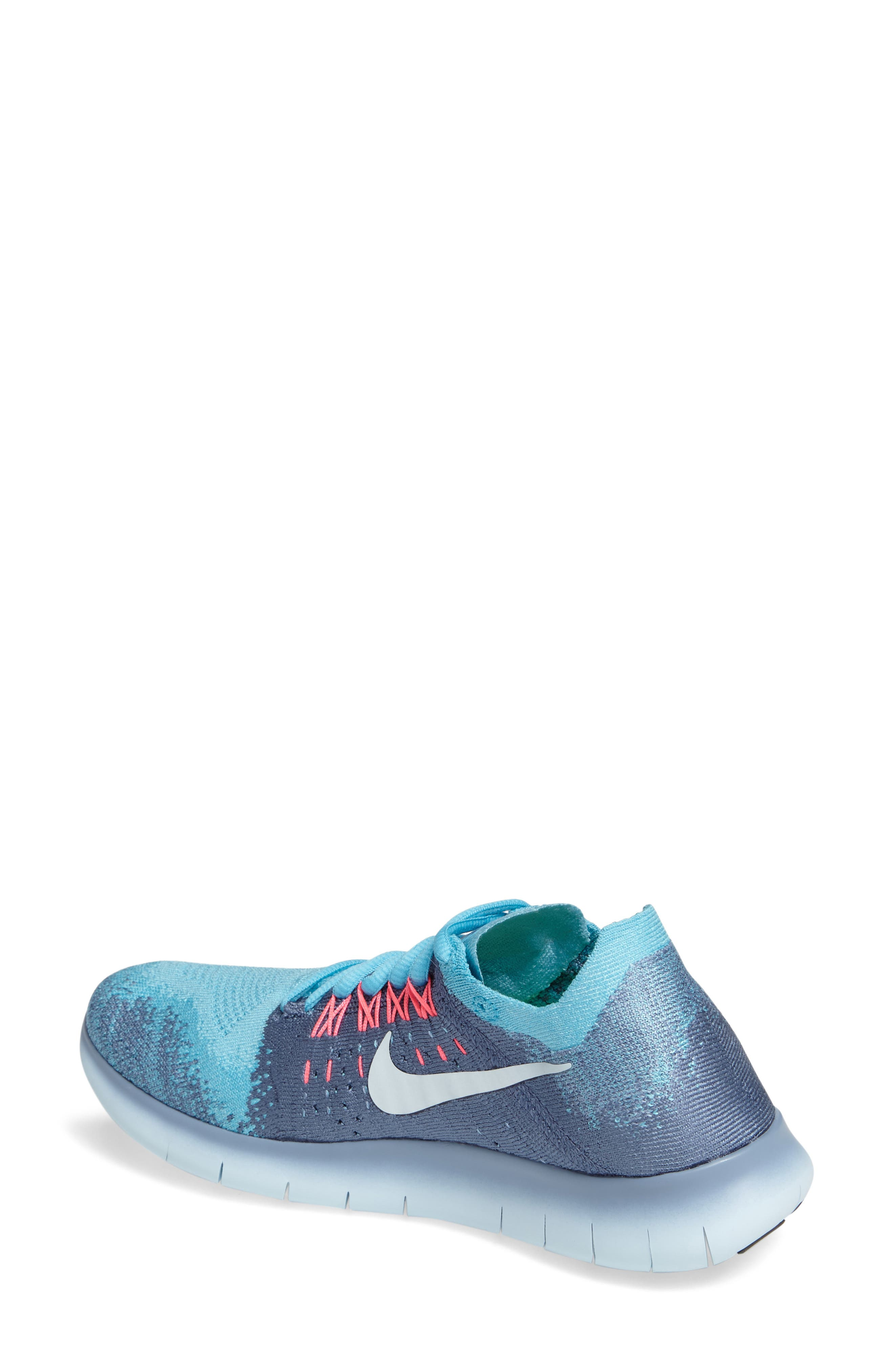 Free RN Flyknit 2 Running Shoe,                             Alternate thumbnail 5, color,
