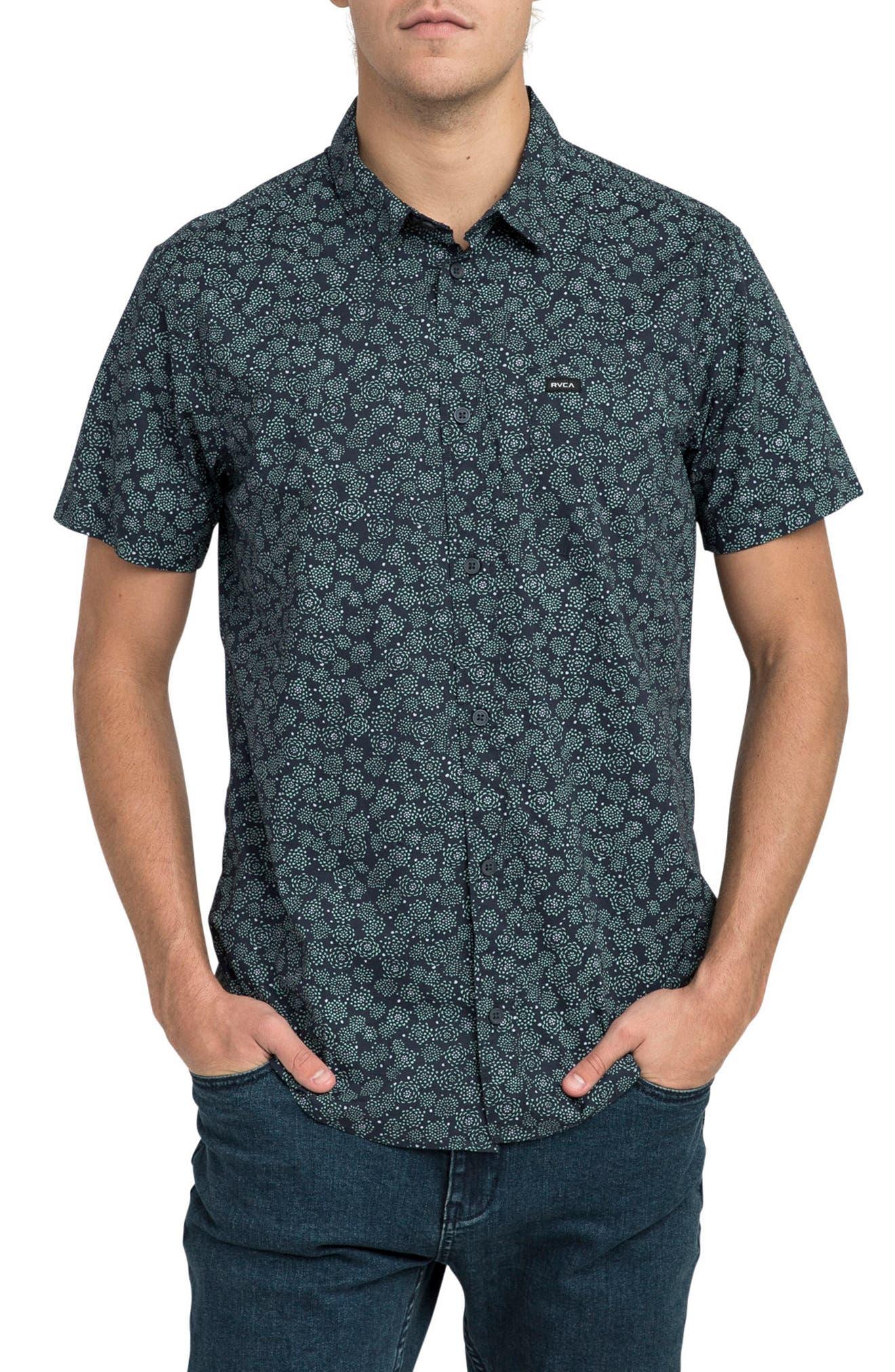 Cleta Woven Shirt,                             Main thumbnail 1, color,                             415