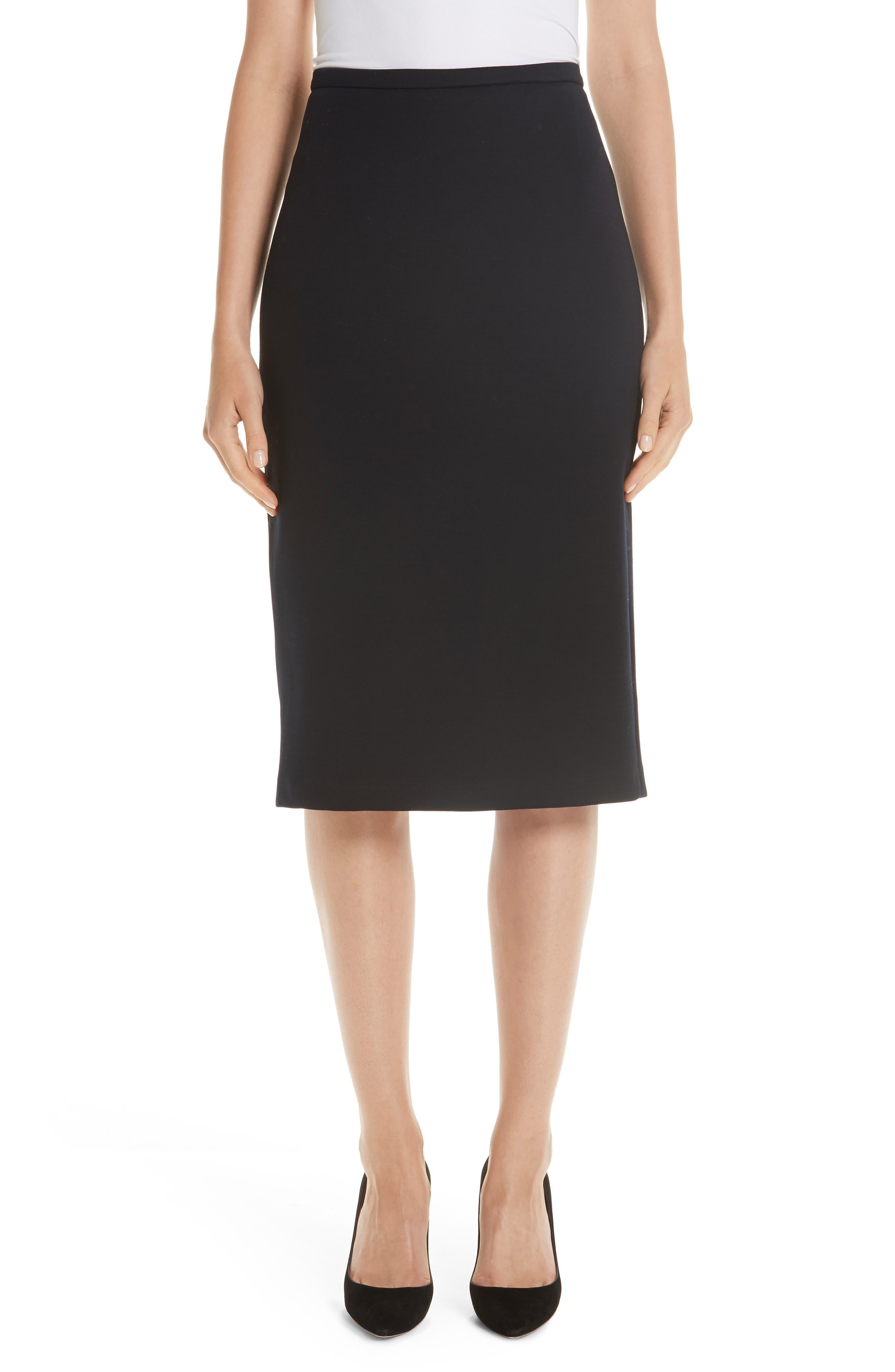 Egeria Knit Pencil Skirt in Ultramarine
