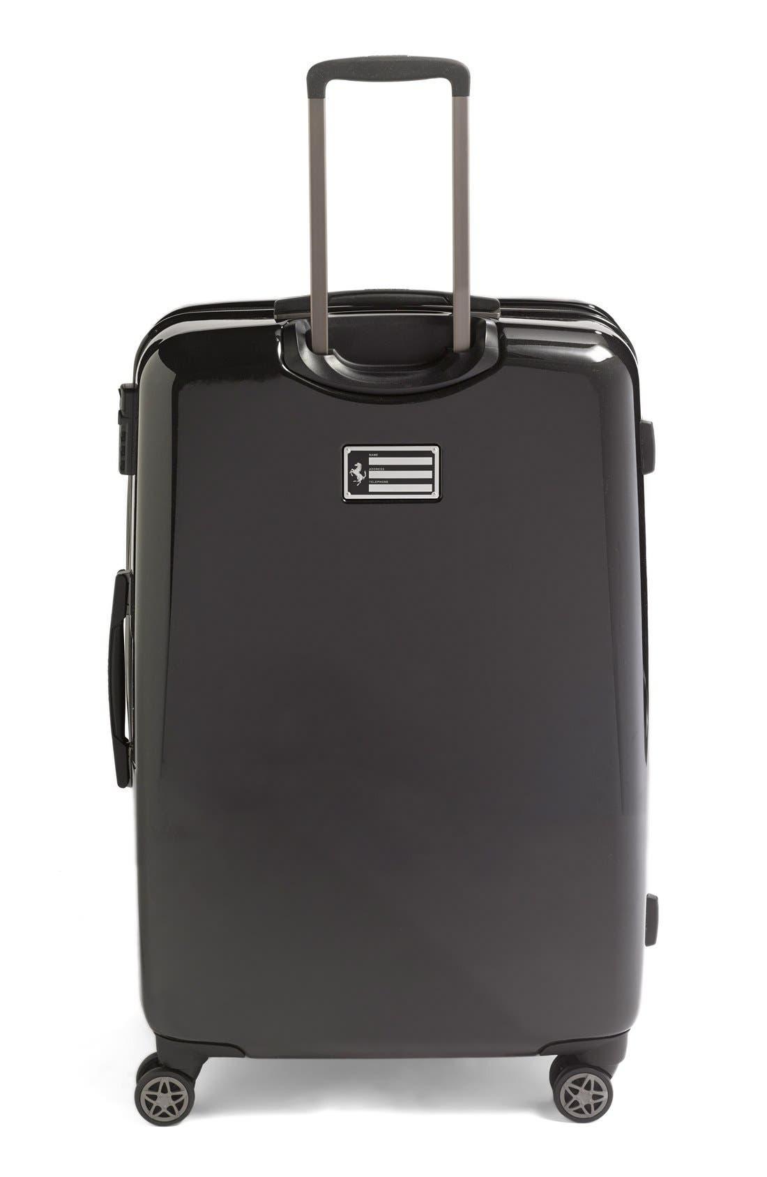 'Hi-Tech - Large' Wheeled Suitcase,                             Alternate thumbnail 4, color,                             001