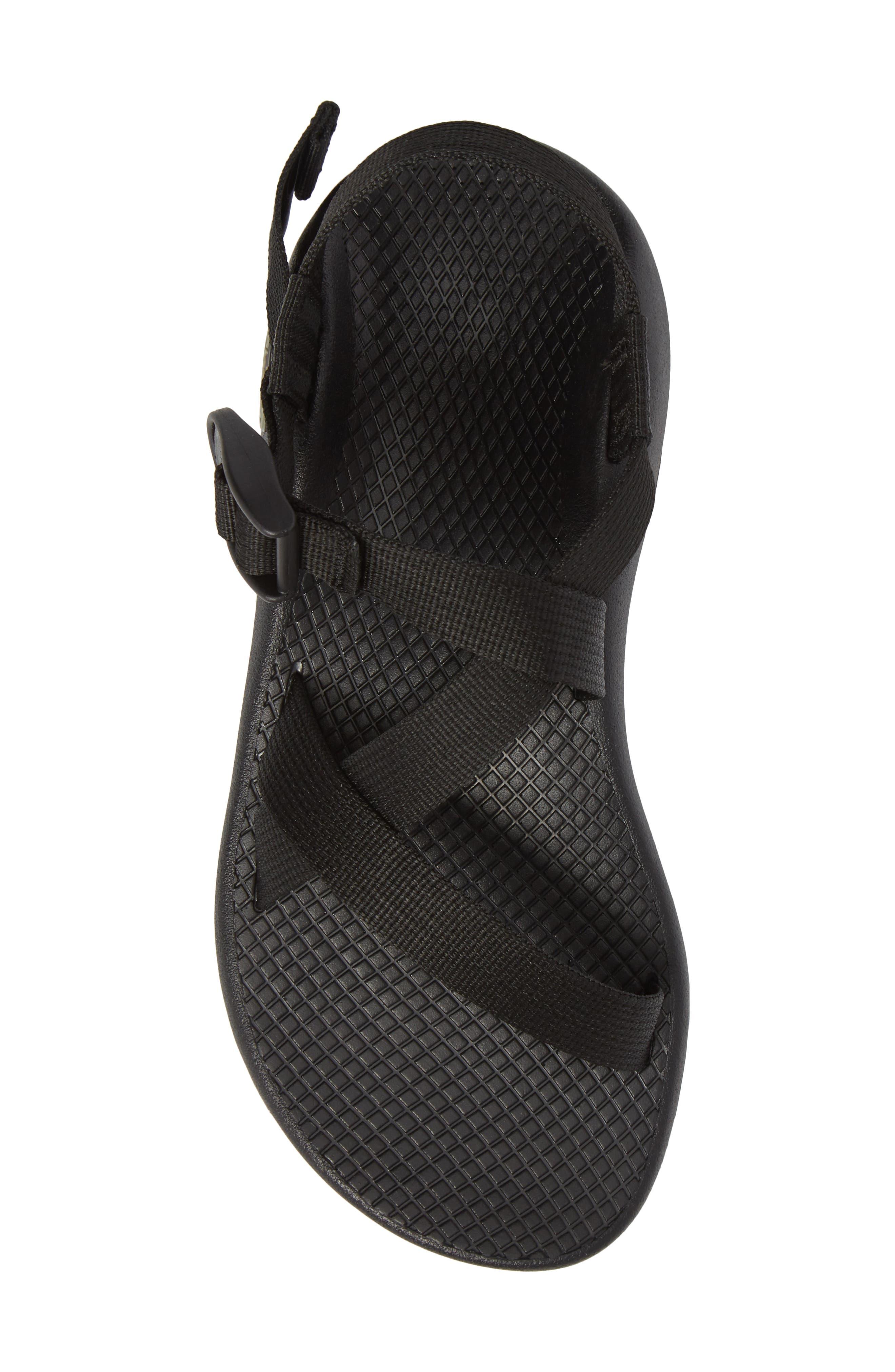 Z/1 Classic Sport Sandal,                             Alternate thumbnail 5, color,                             BLACK