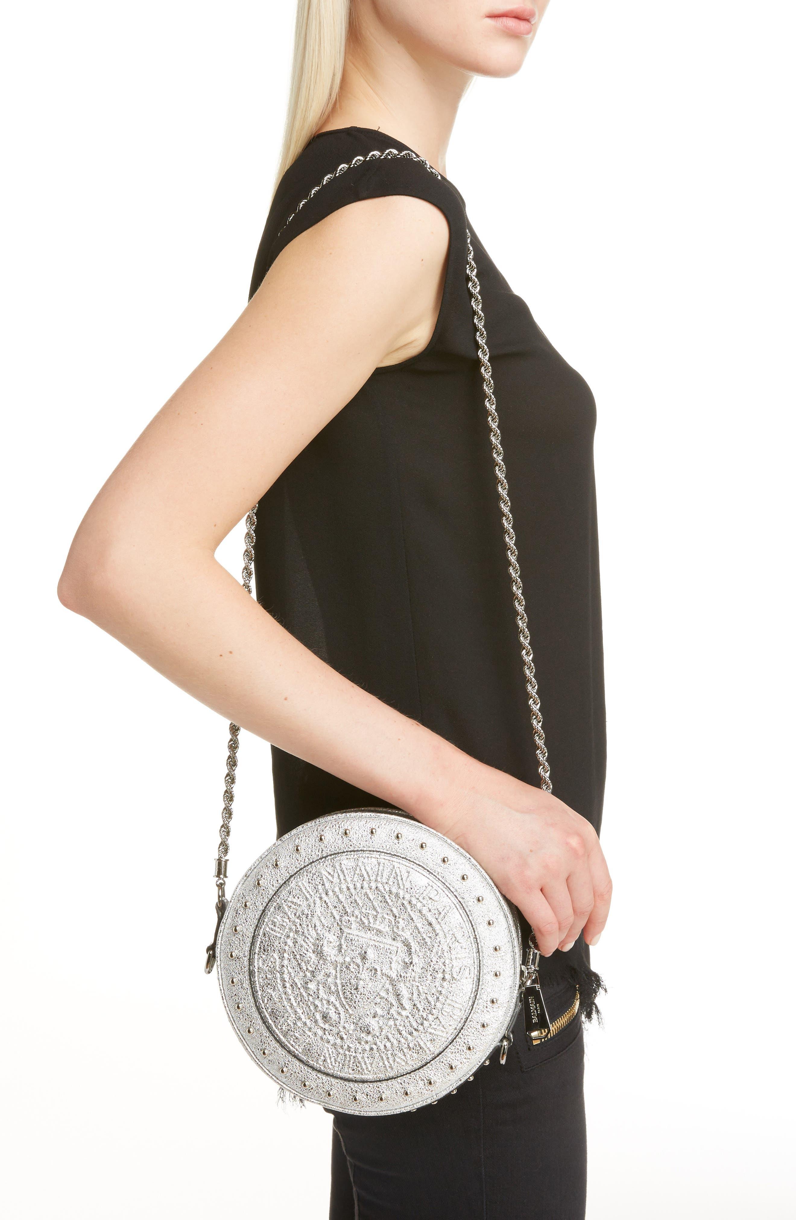 Renaissance Leather Crossbody Bag,                             Alternate thumbnail 2, color,                             040