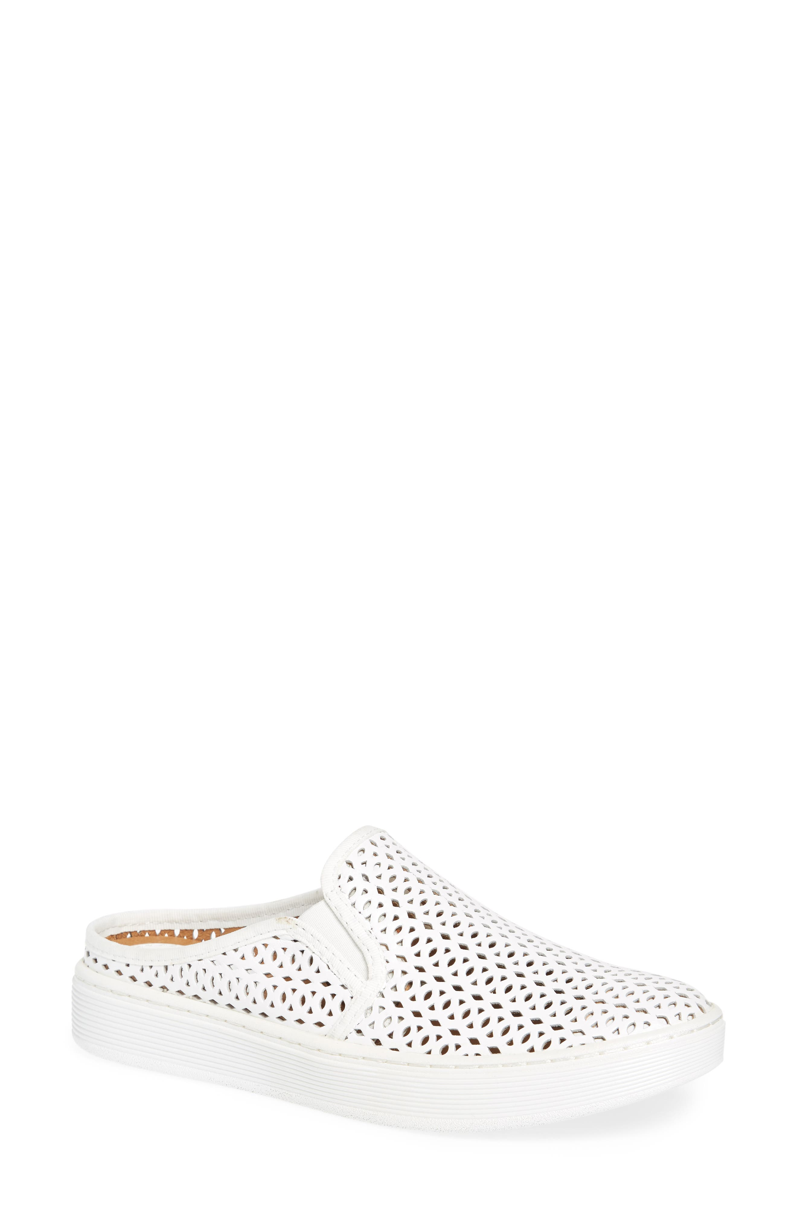 Somers II Sneaker,                         Main,                         color, WHITE LEATHER