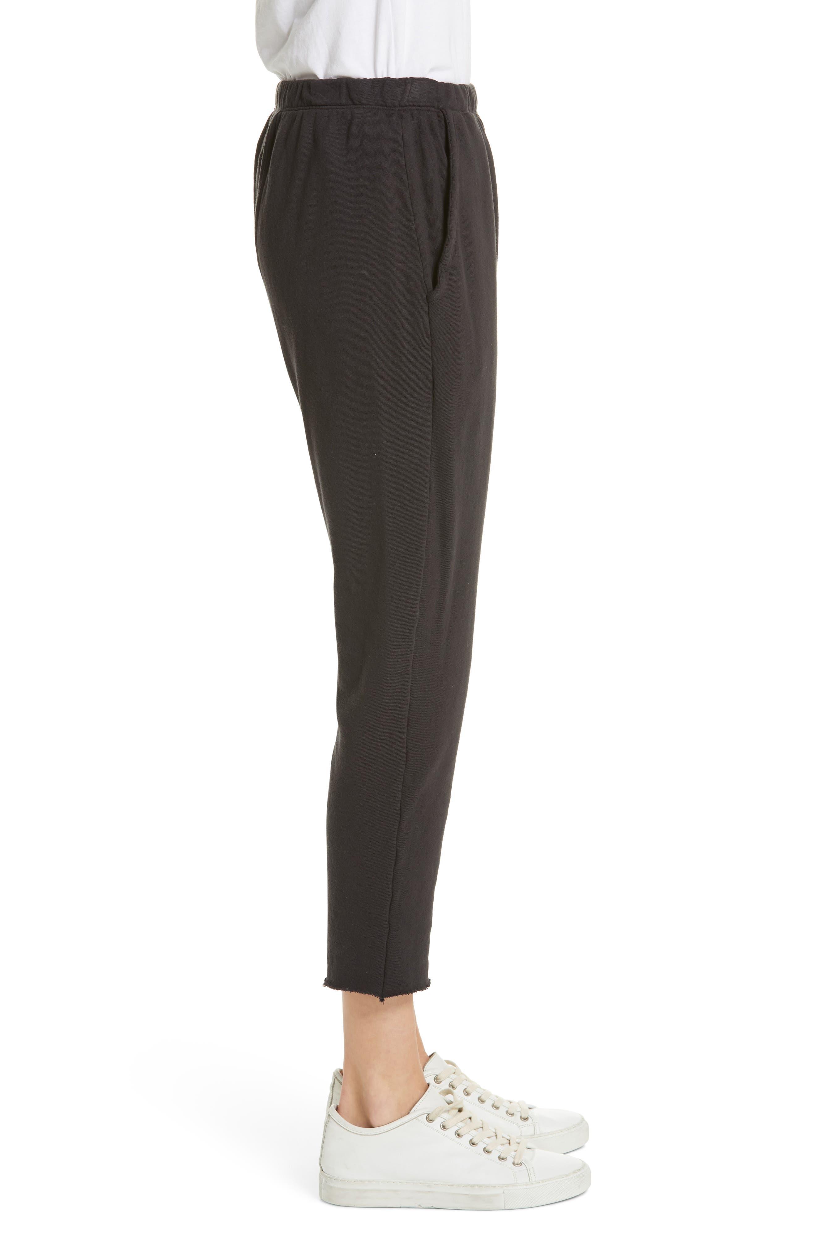 The Pajama Sweatpants,                             Alternate thumbnail 3, color,                             ALMOST BLACK