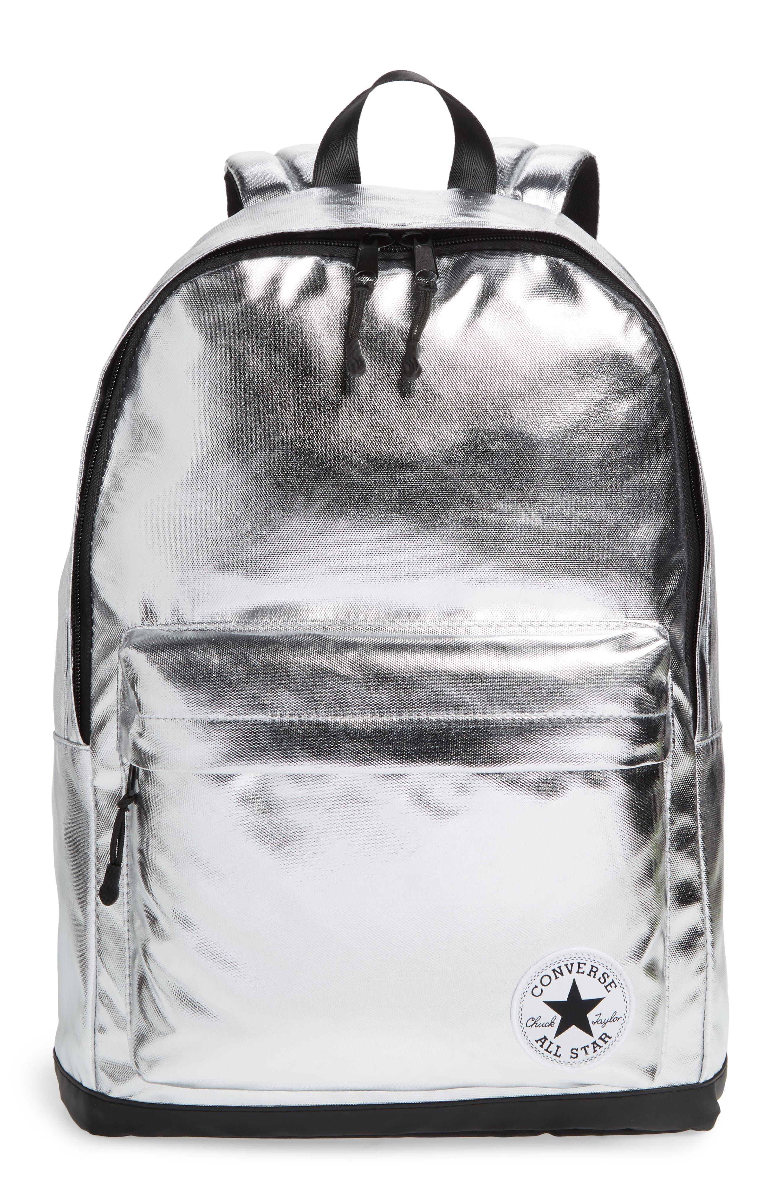 Boys Converse Metallic Backpack  Metallic