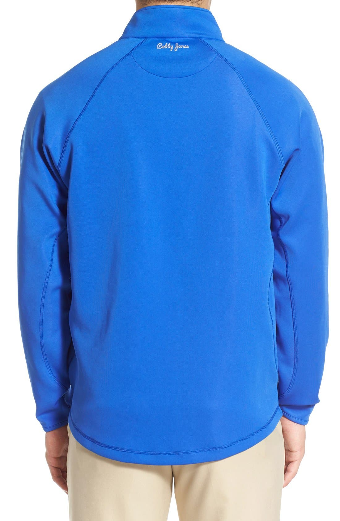 XH2O Crawford Stretch Quarter Zip Golf Pullover,                             Alternate thumbnail 21, color,