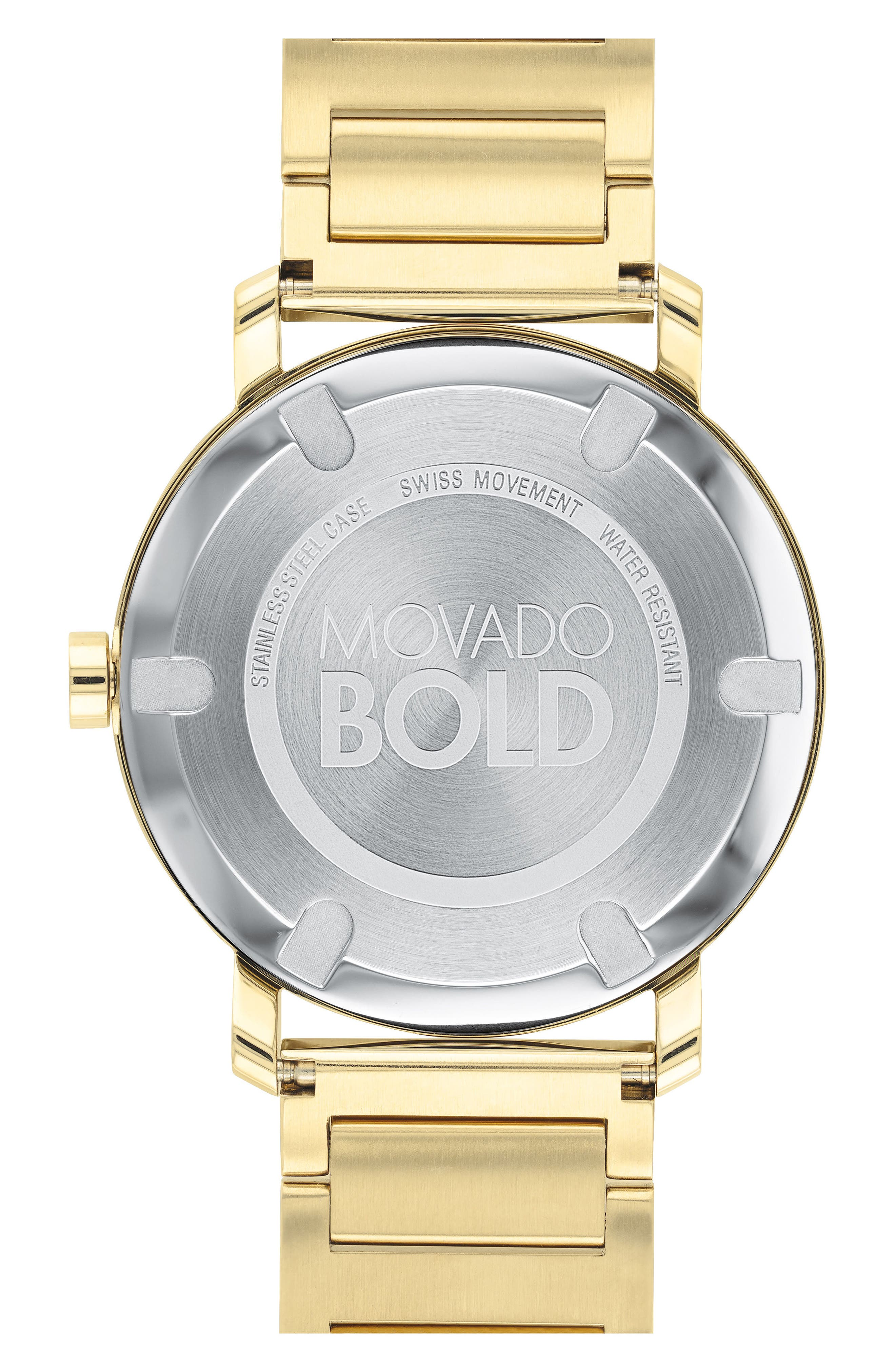 Bold Bracelet Watch, 40mm,                             Alternate thumbnail 2, color,                             GOLD
