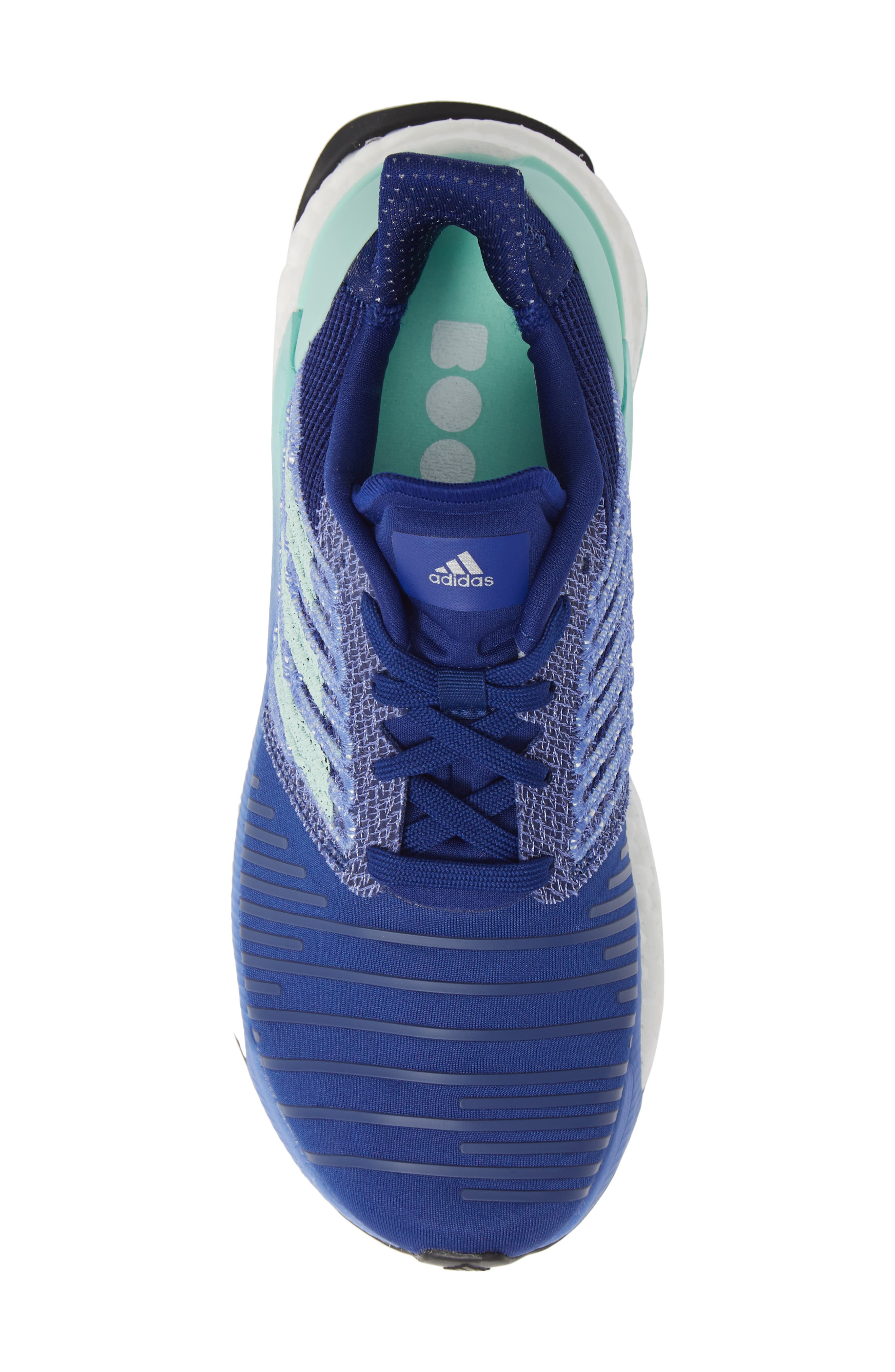 Solarboost Running Shoe,                             Alternate thumbnail 5, color,                             MYSTERY INK/ CLEAR MINT/ LILAC