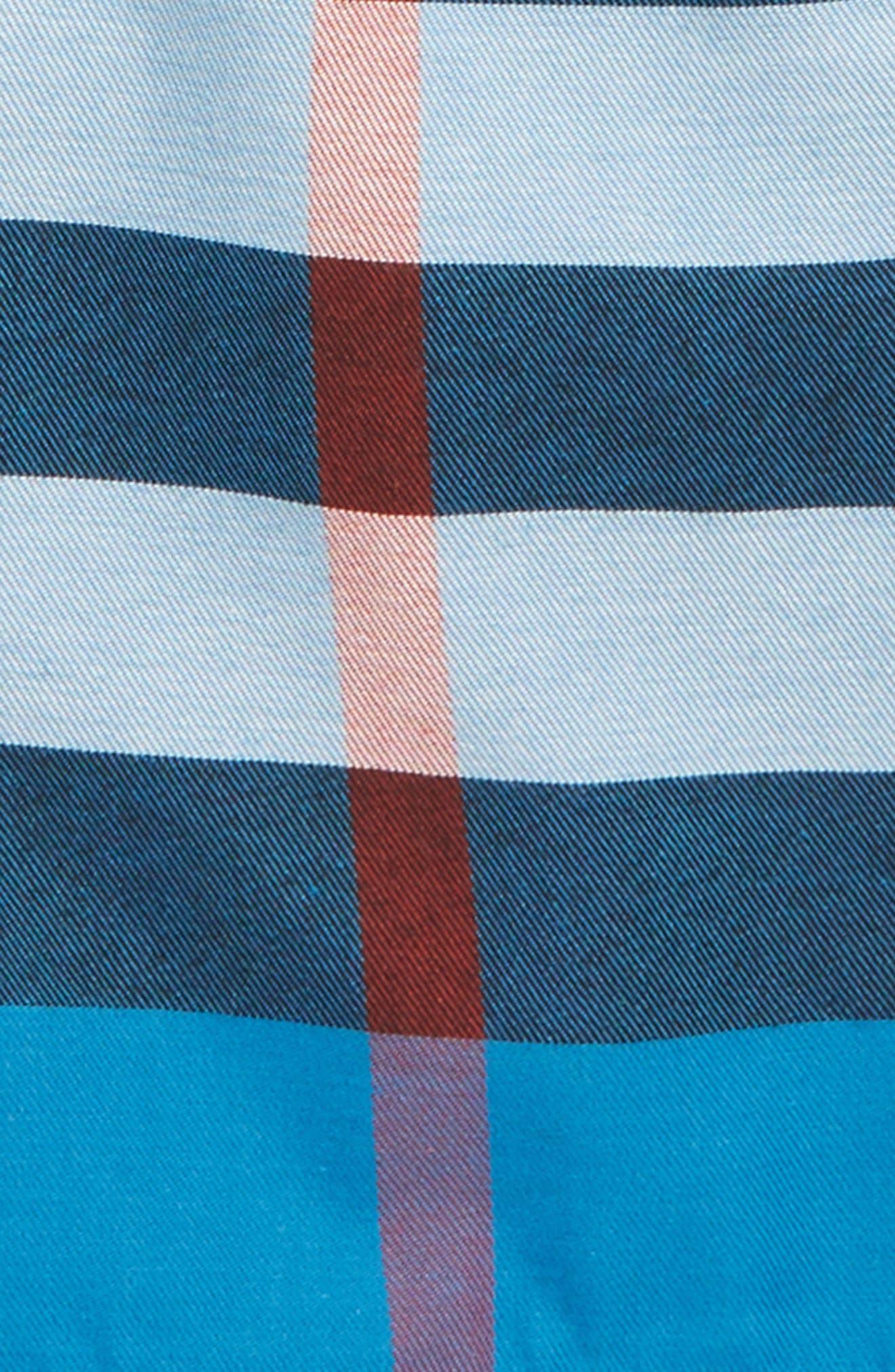 Sean Check Print Shorts,                             Alternate thumbnail 2, color,                             420
