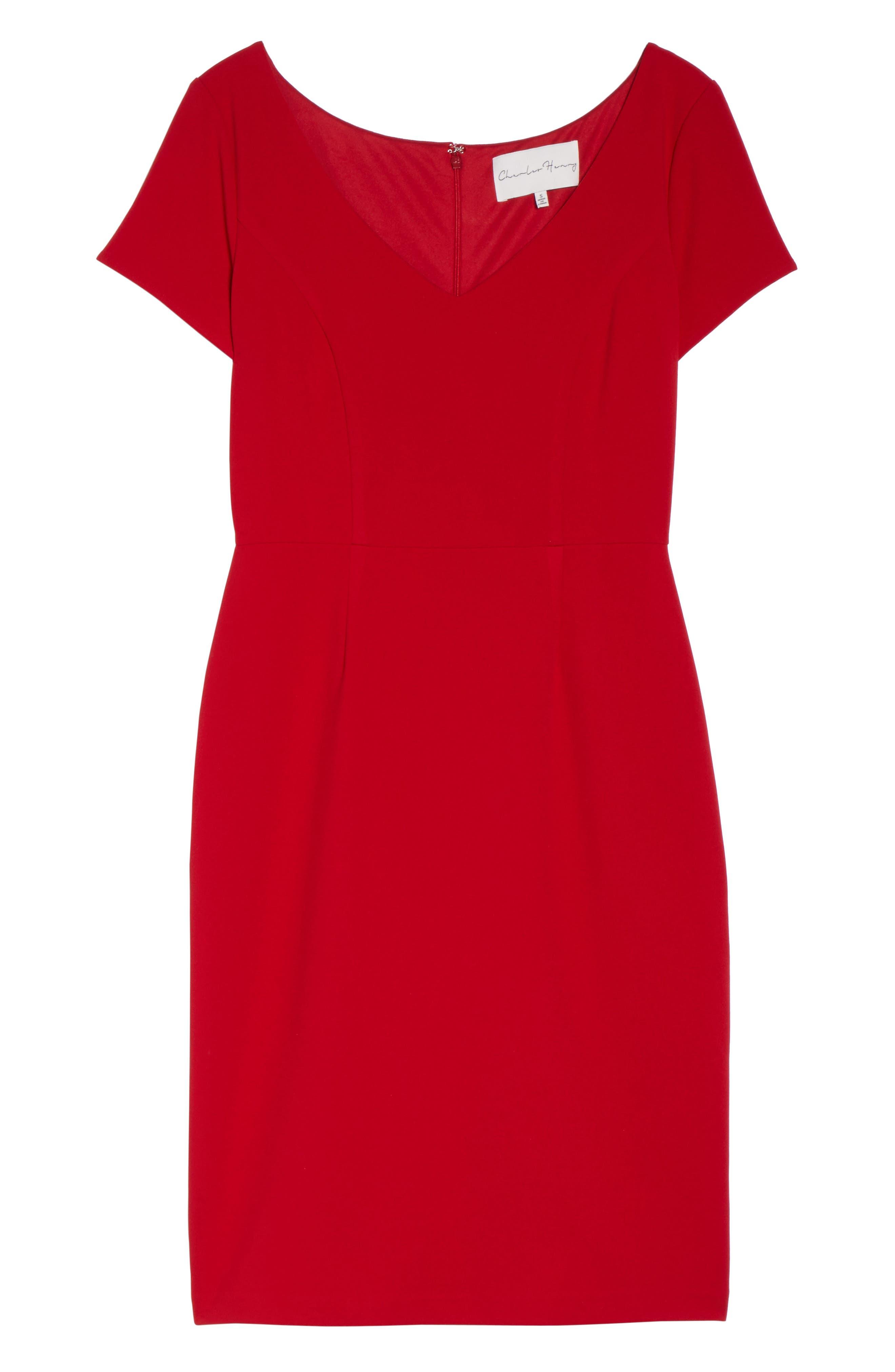 Sheath Dress,                             Alternate thumbnail 6, color,                             600