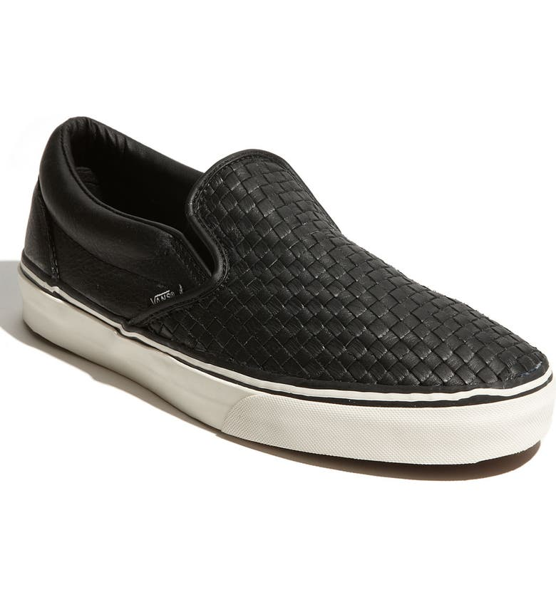 Vans Classic Slip-On Leather Sneaker  ec31893a9