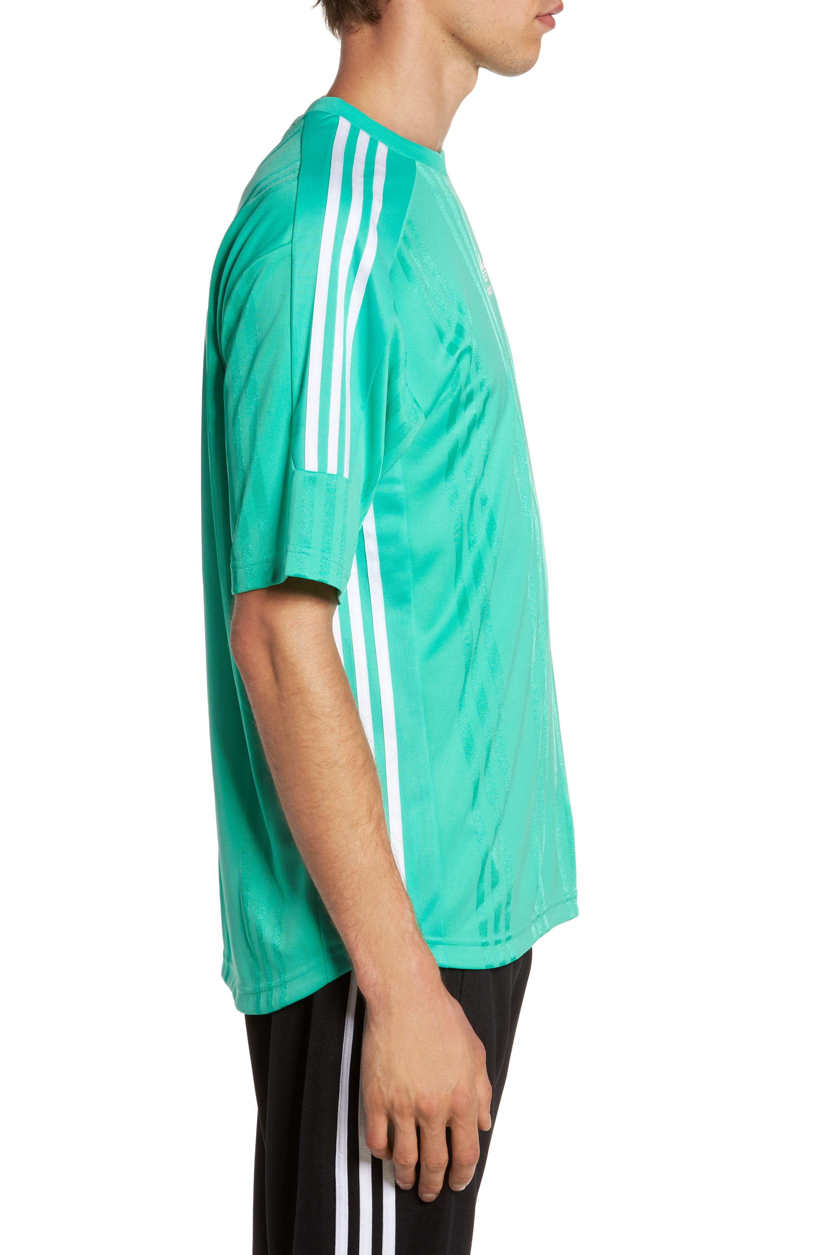Originals Jacquard Stripe T-Shirt,                             Alternate thumbnail 8, color,