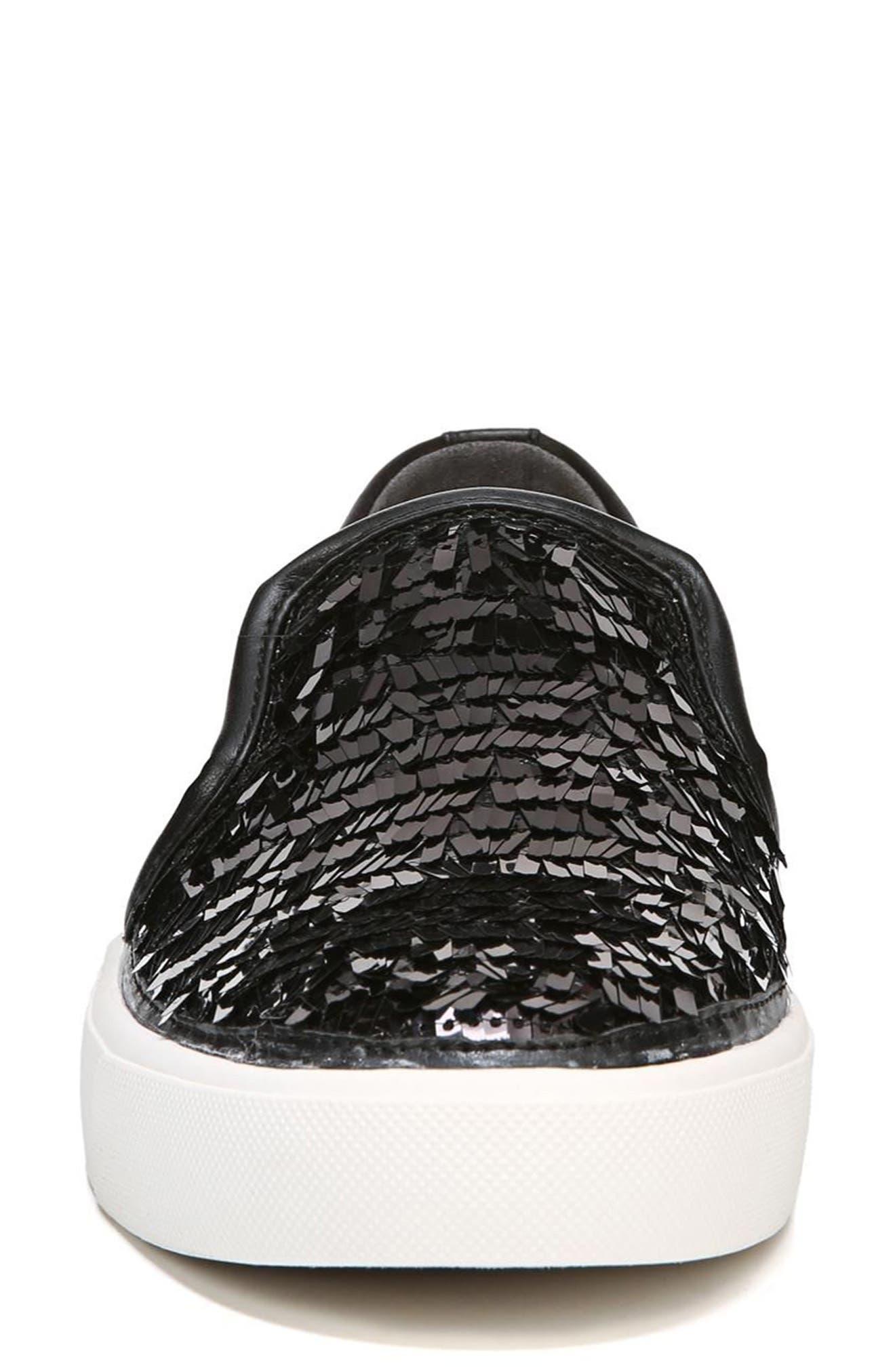 SAM EDELMAN,                             Elton Slip-On Sneaker,                             Alternate thumbnail 4, color,                             002