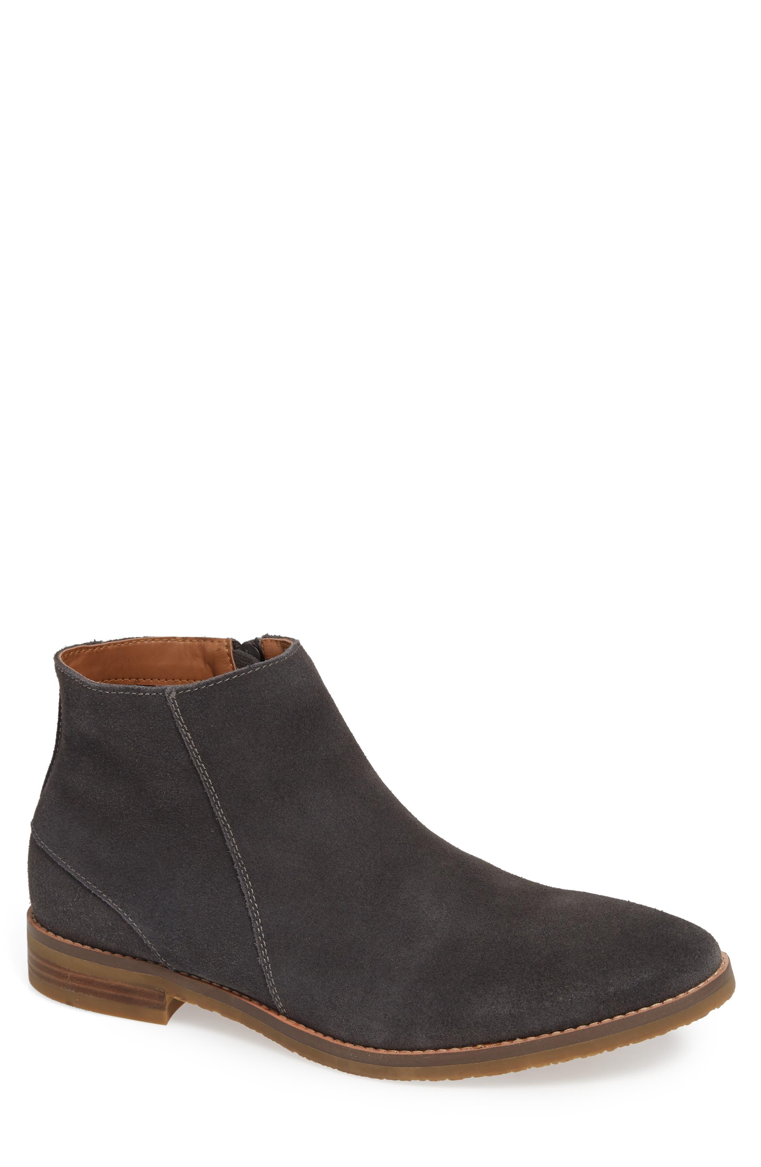 Brighton Chelsea Zip Boot,                         Main,                         color, GREY