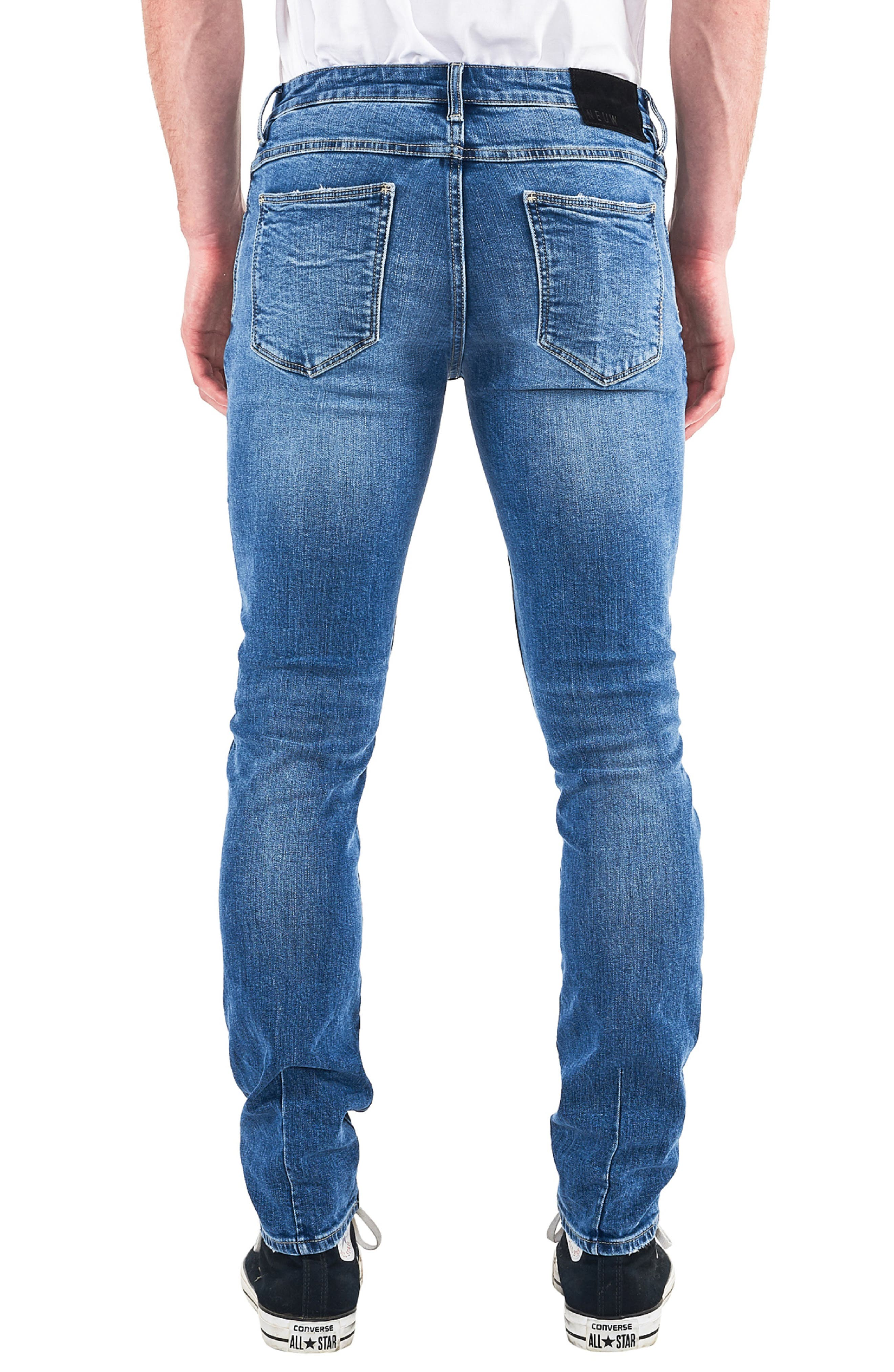Iggy Skinny Fit Jeans,                             Alternate thumbnail 2, color,                             TRAIN