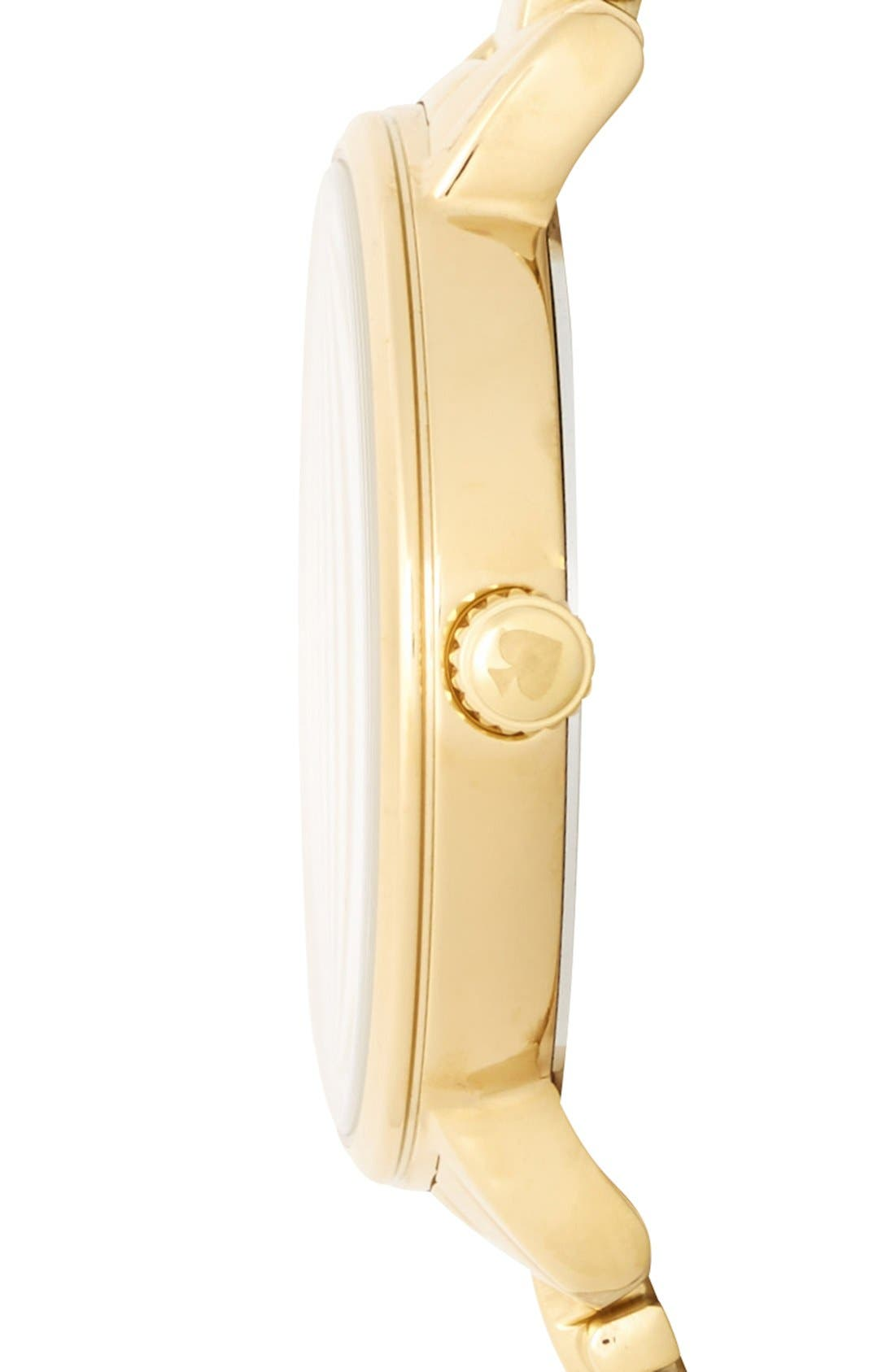 'gramercy' crystal marker watch, 34mm,                             Alternate thumbnail 6, color,