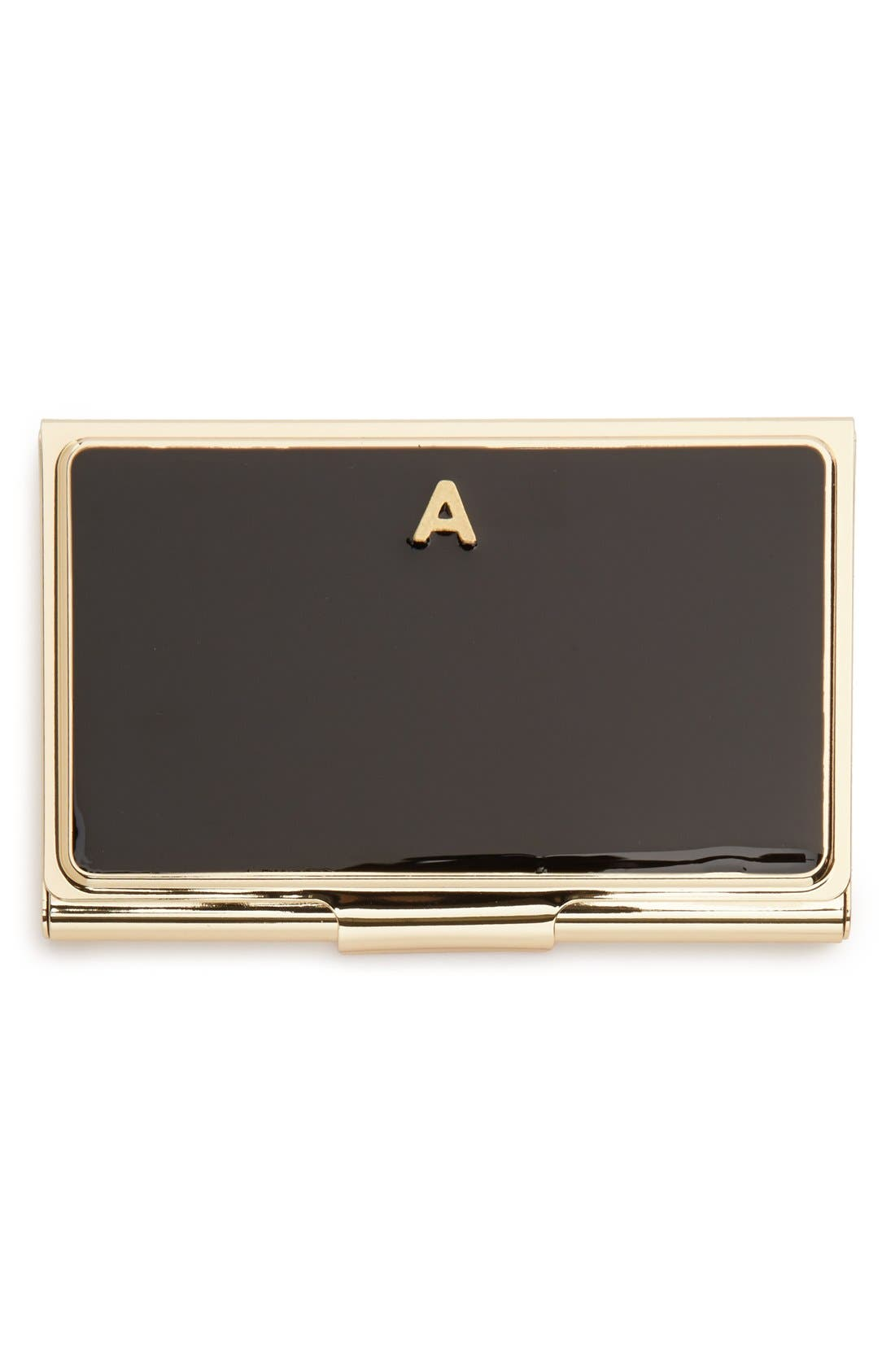 'one in a million' business card holder,                             Main thumbnail 2, color,
