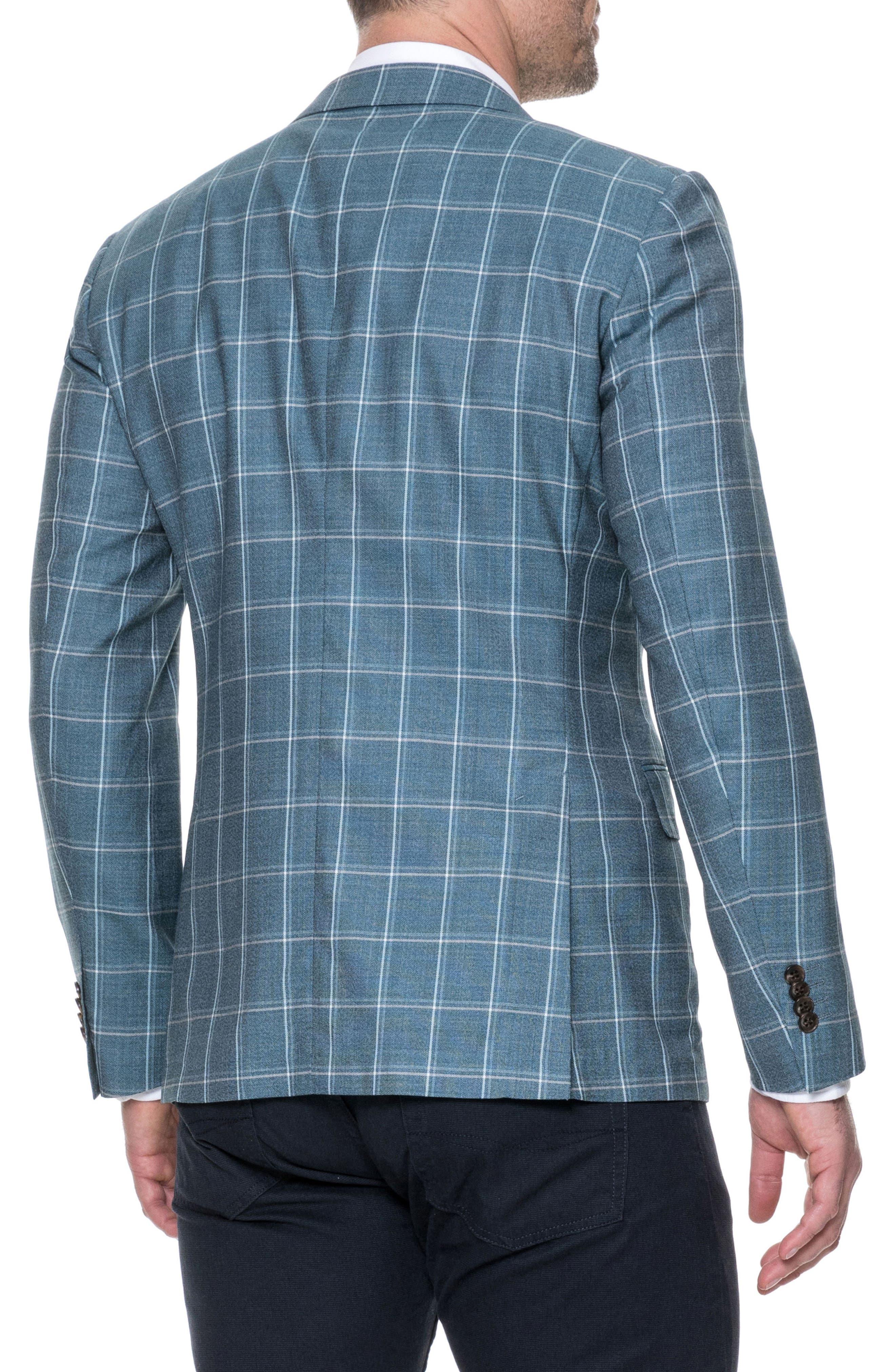 Middleton Regular Fit Wool Sport Coat,                             Alternate thumbnail 2, color,